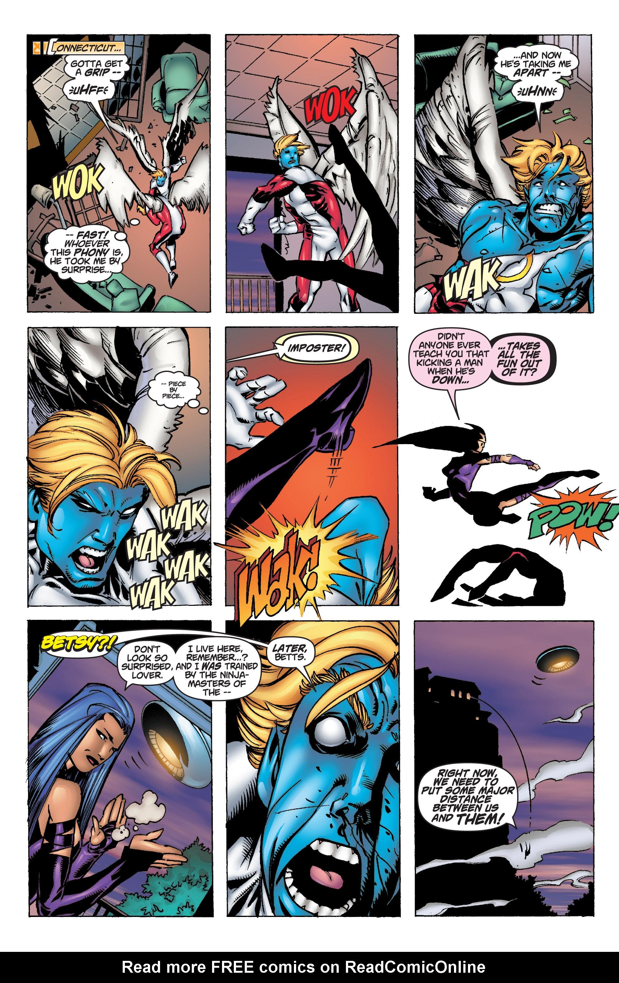 Read online Uncanny X-Men (1963) comic -  Issue #375 - 29