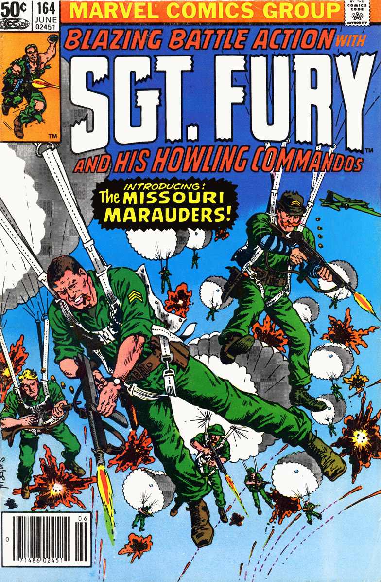 Read online Sgt. Fury comic -  Issue #164 - 1