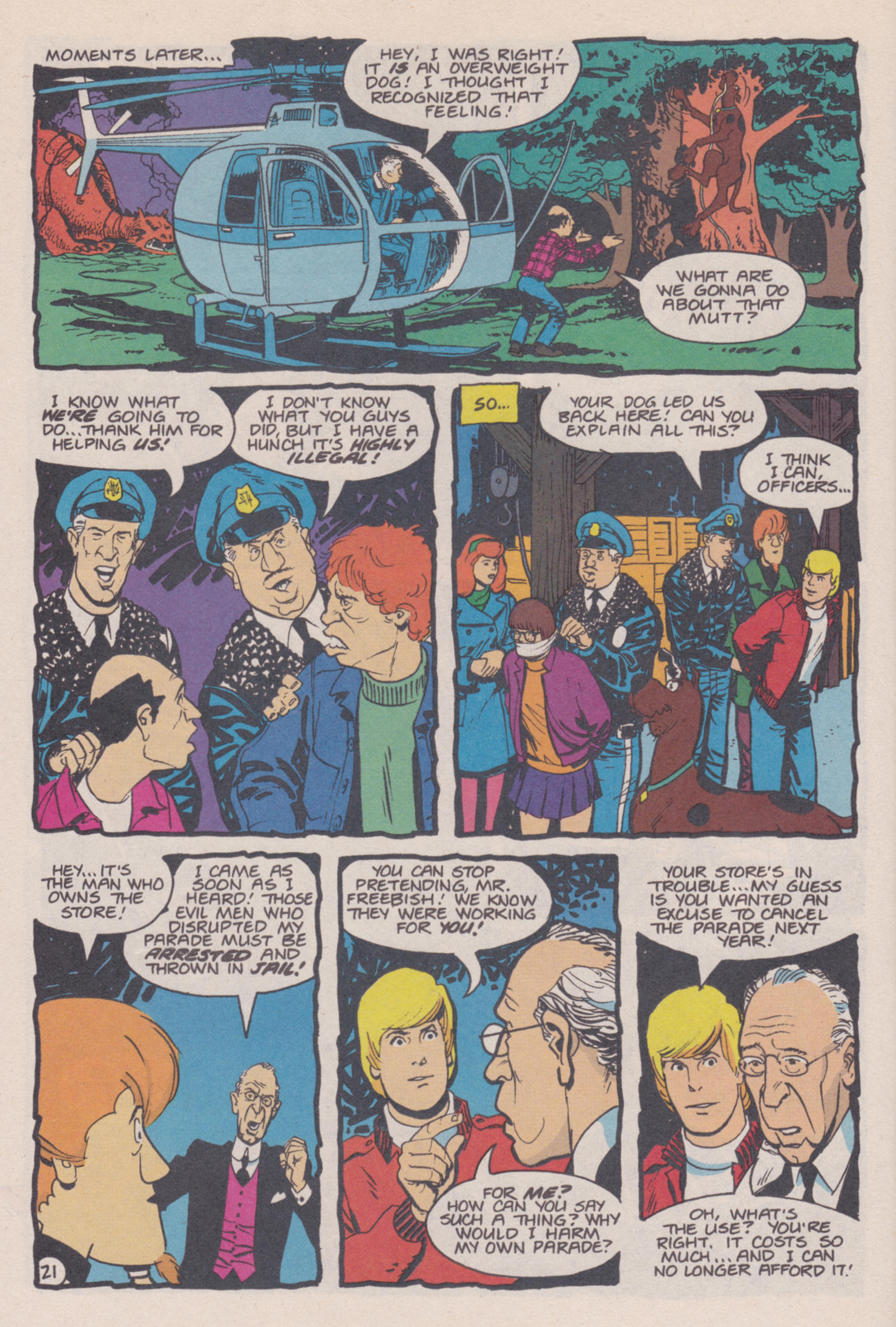 Read online Scooby-Doo (1995) comic -  Issue #14 - 22