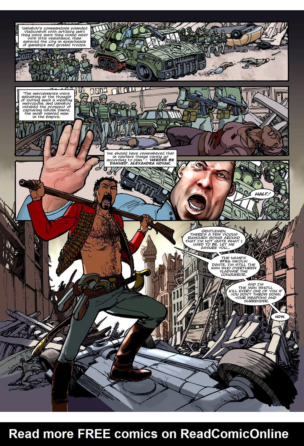 Read online Nikolai Dante comic -  Issue # TPB 10 - 153