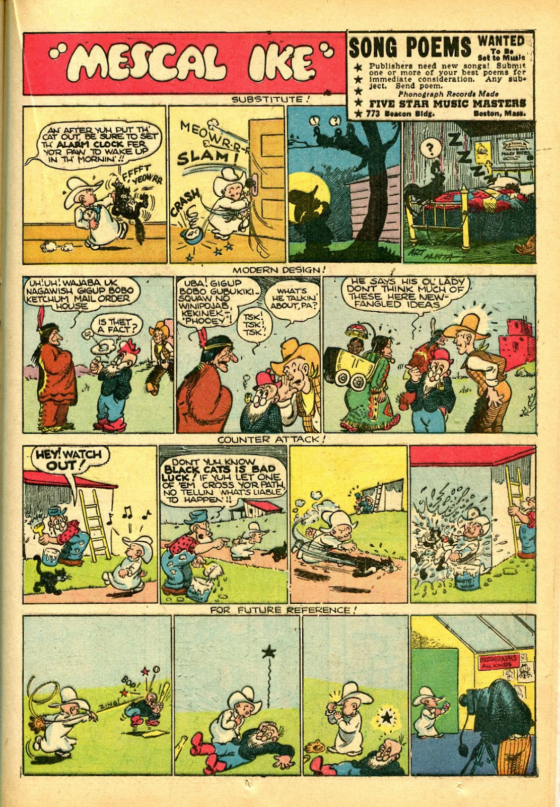 Read online Famous Funnies comic -  Issue #108 - 41