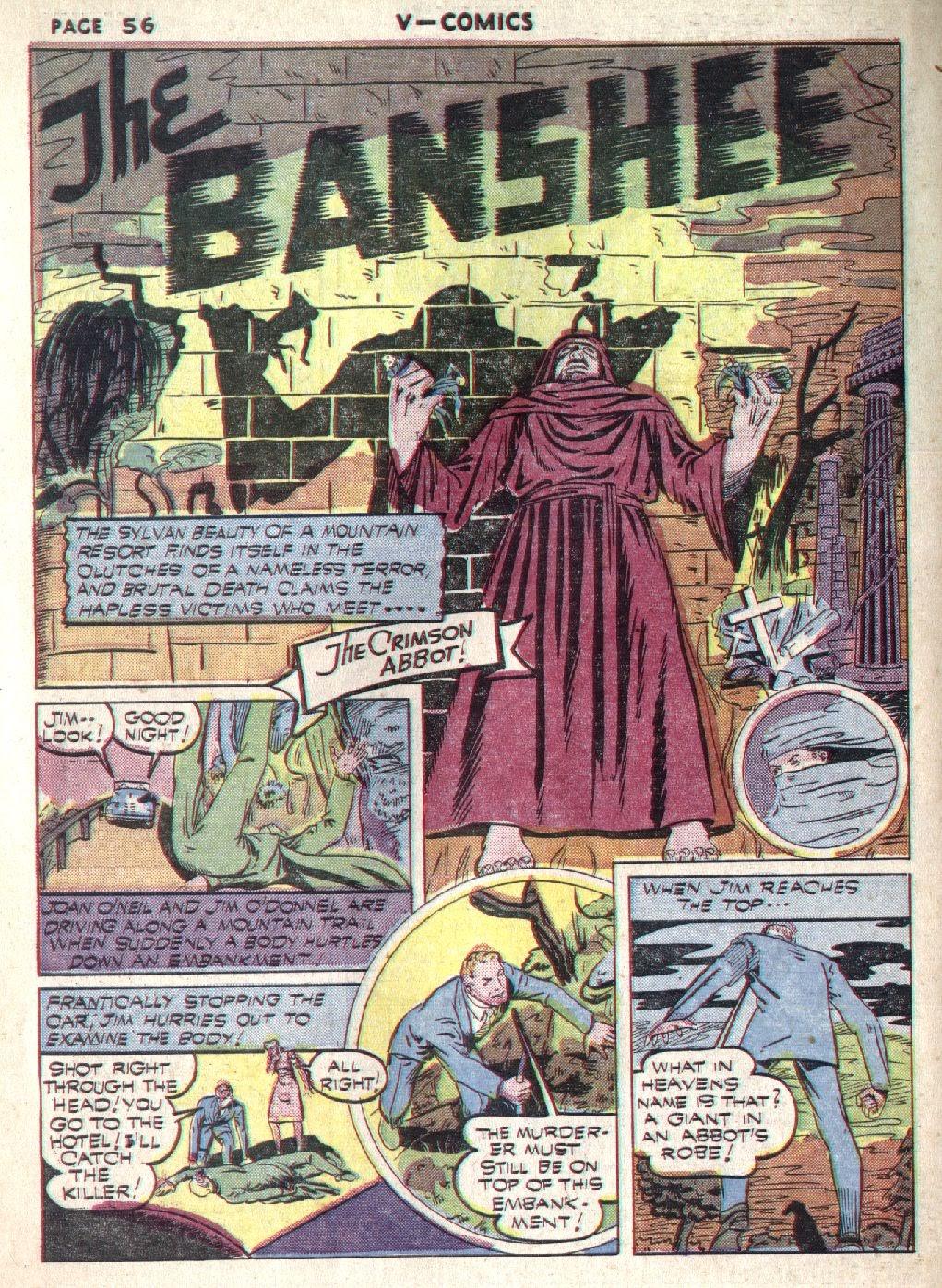 Read online V...- Comics comic -  Issue #1 - 57