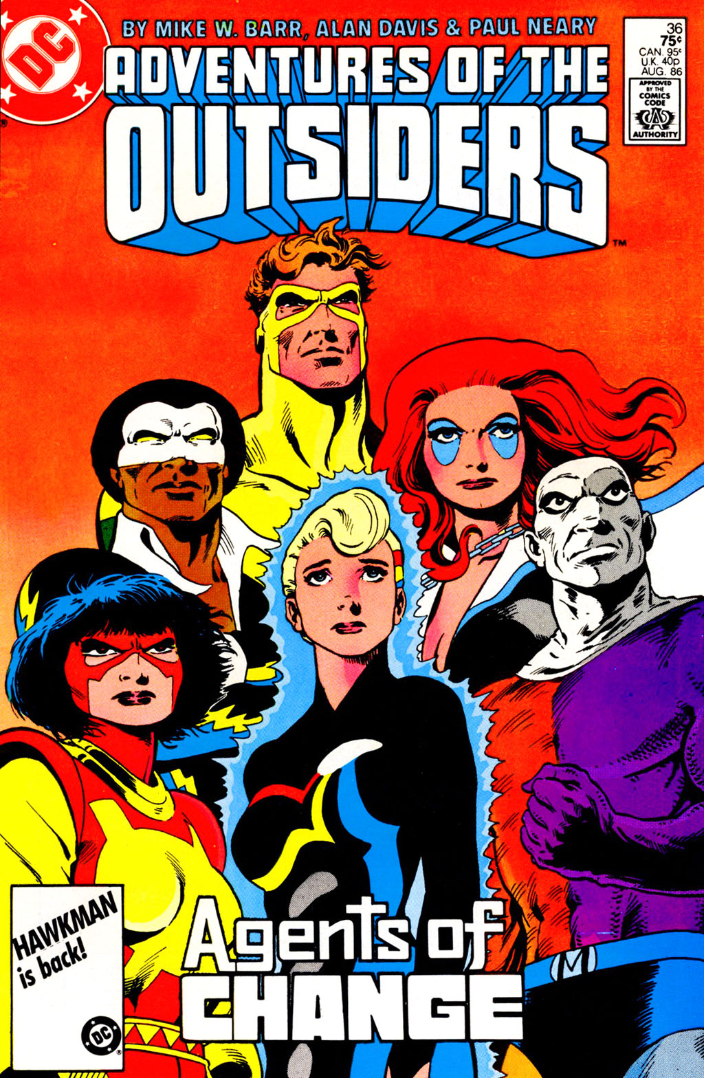 Read online Adventures of the Outsiders comic -  Issue #36 - 3