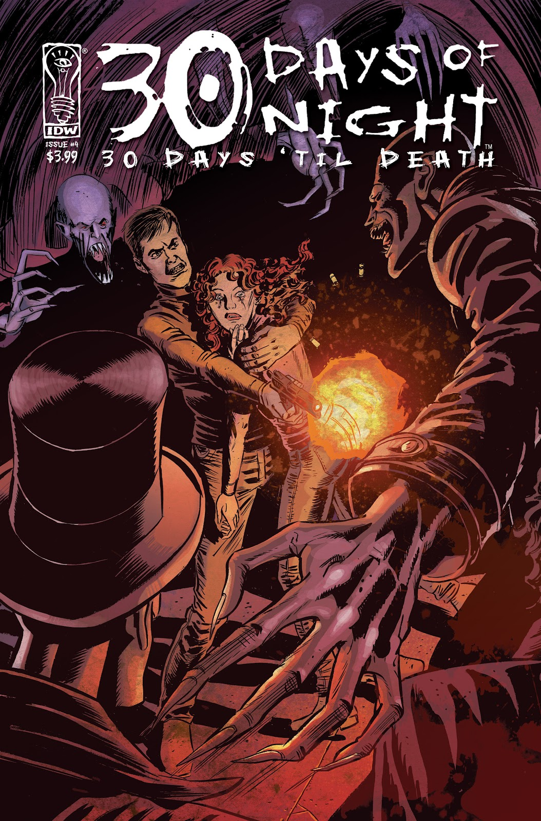 30 Days of Night: 30 Days 'til Death issue 4 - Page 1