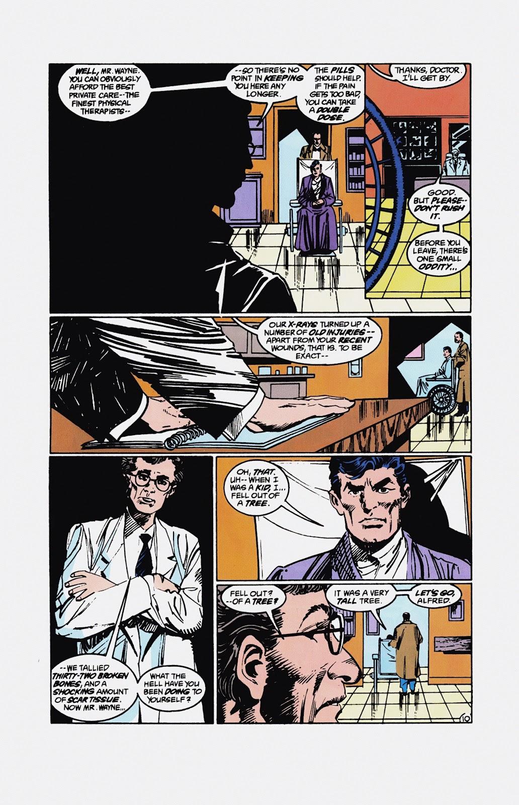 Read online Detective Comics (1937) comic -  Issue # _TPB Batman - Blind Justice (Part 1) - 97