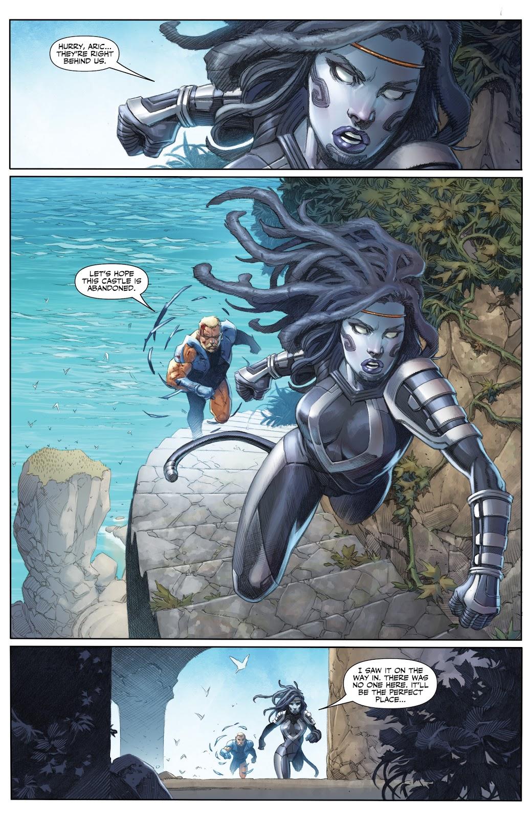 Read online X-O Manowar (2017) comic -  Issue #25 - 2