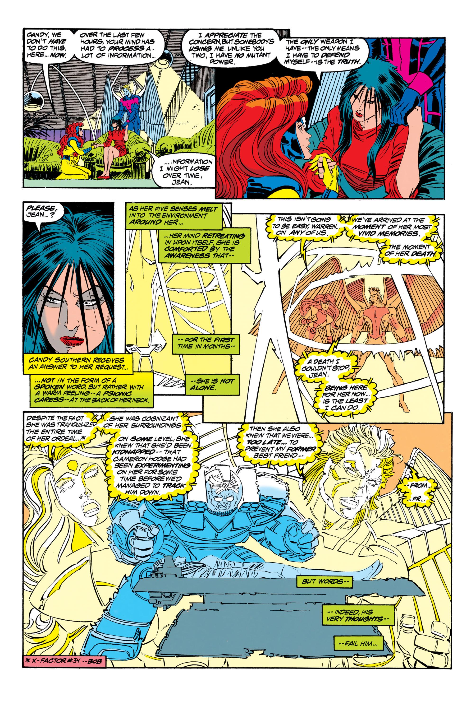 Read online Uncanny X-Men (1963) comic -  Issue #306 - 13