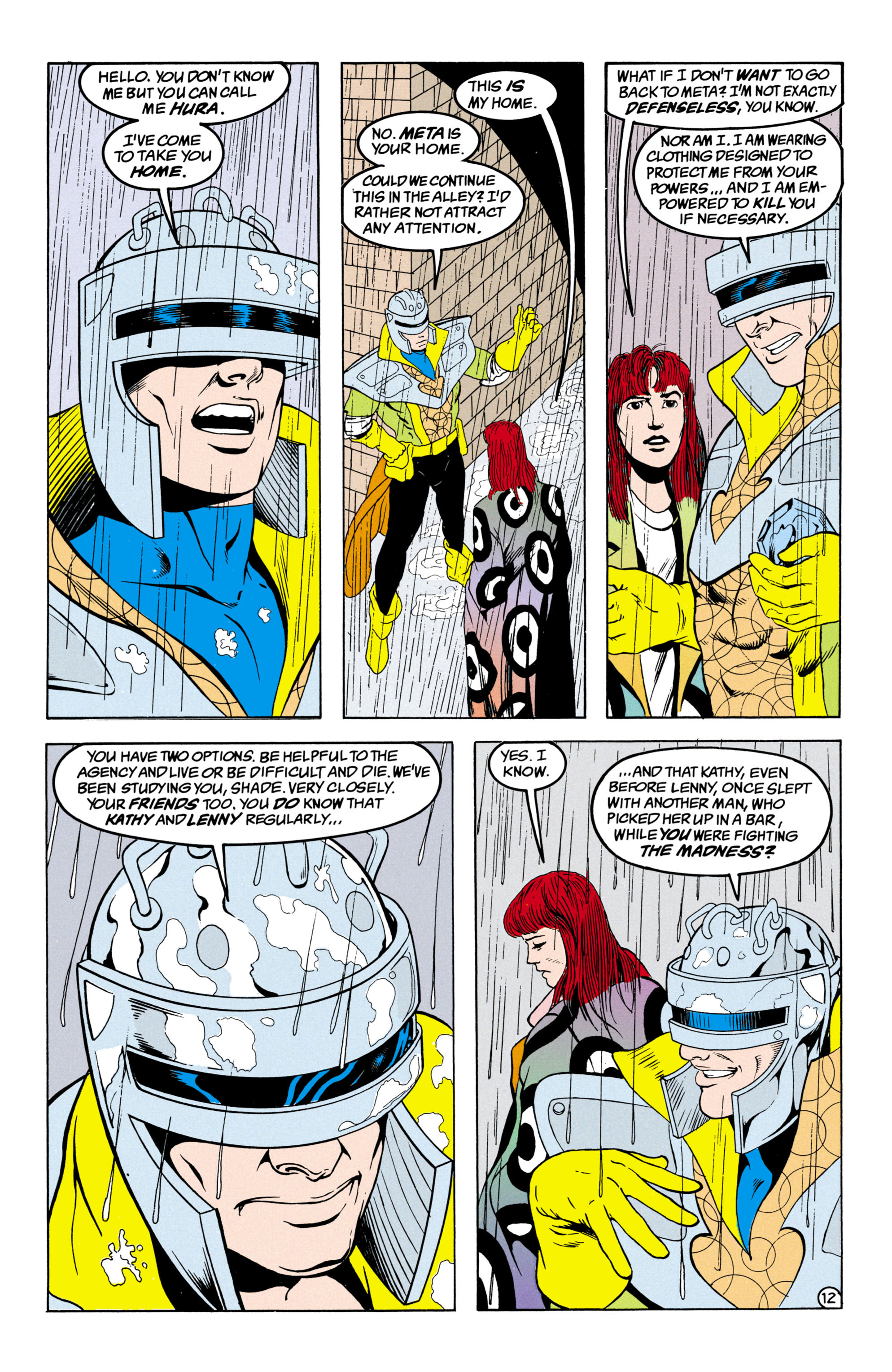 Read online Shade, the Changing Man comic -  Issue #31 - 13
