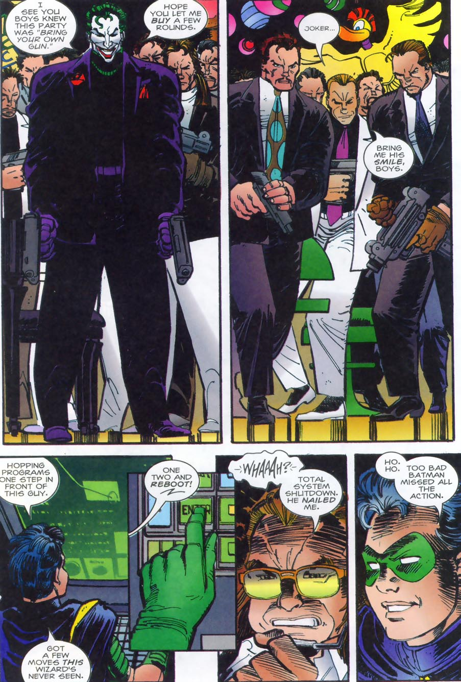 Read online Punisher/Batman: Deadly Knights comic -  Issue # Full - 27