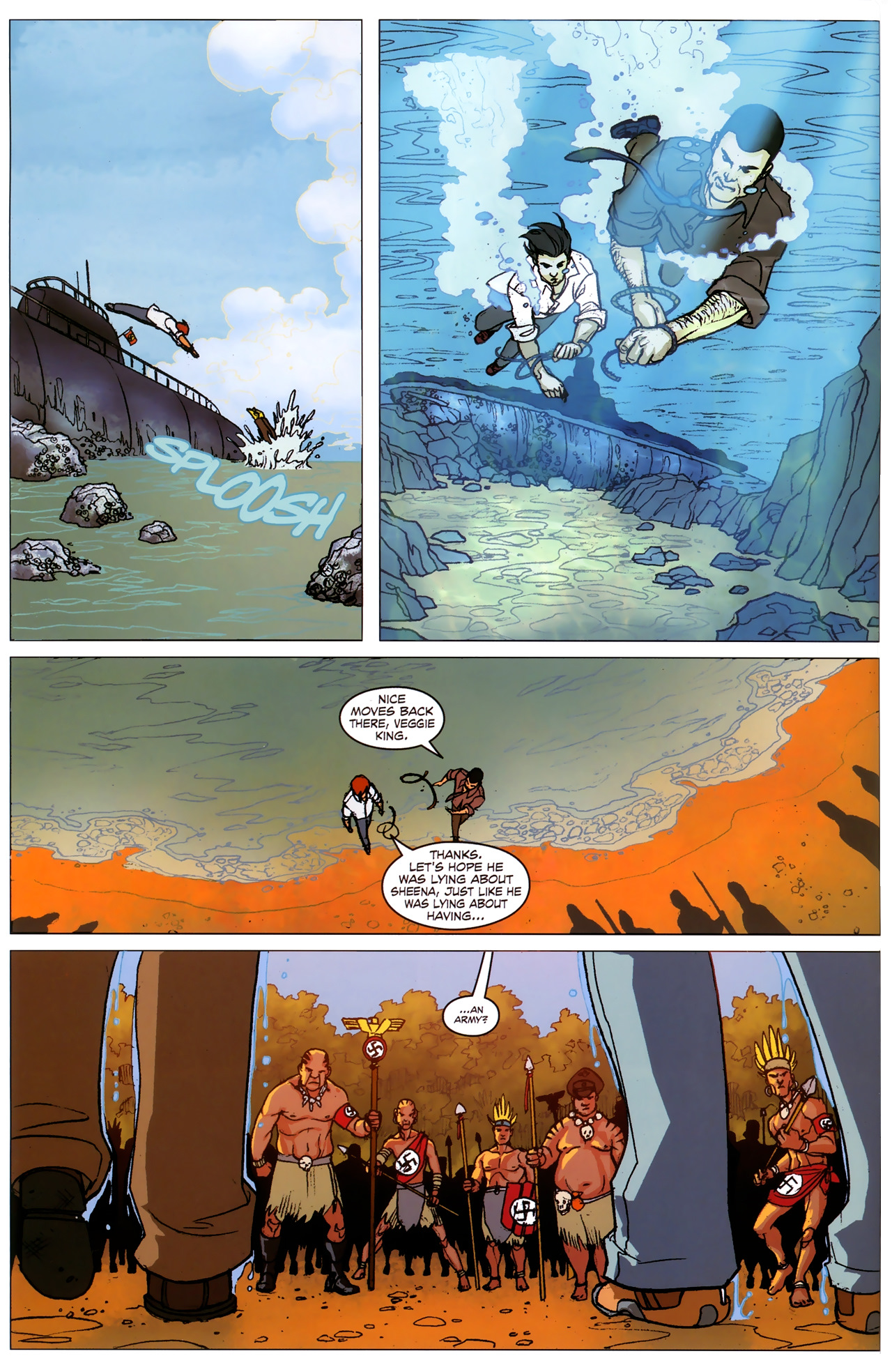Read online Sheena Queen of the Jungle: Dark Rising comic -  Issue #2 - 7