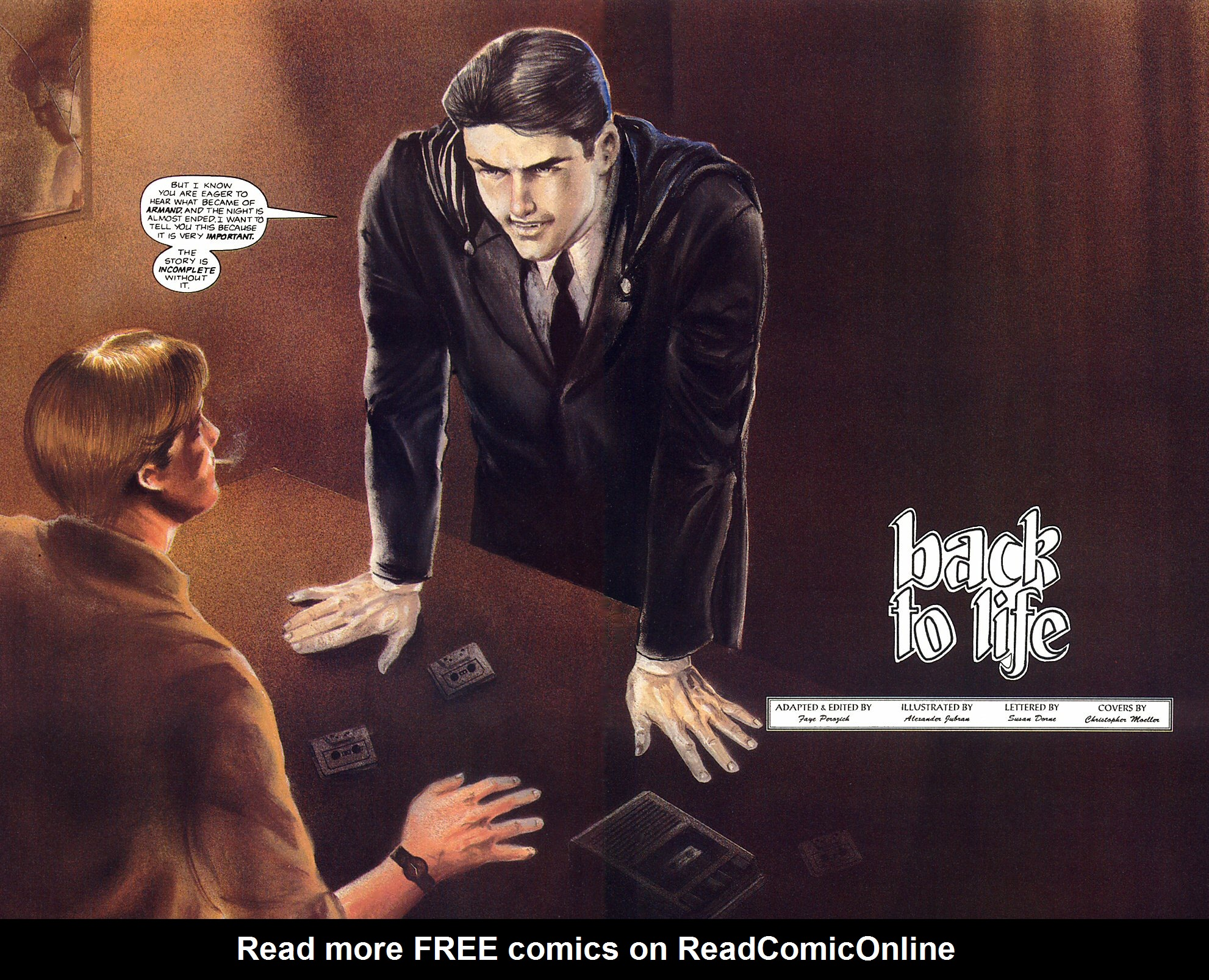 Read online Anne Rice's Interview with the Vampire comic -  Issue #12 - 8