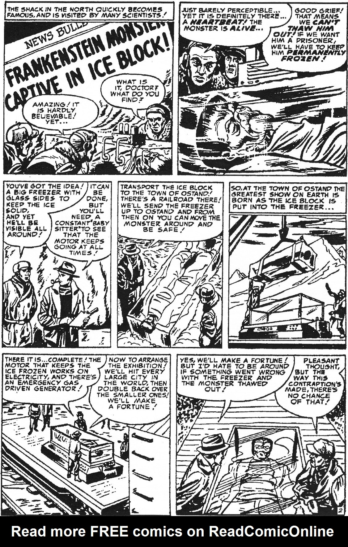 Read online Men of Mystery Comics comic -  Issue #63 - 14
