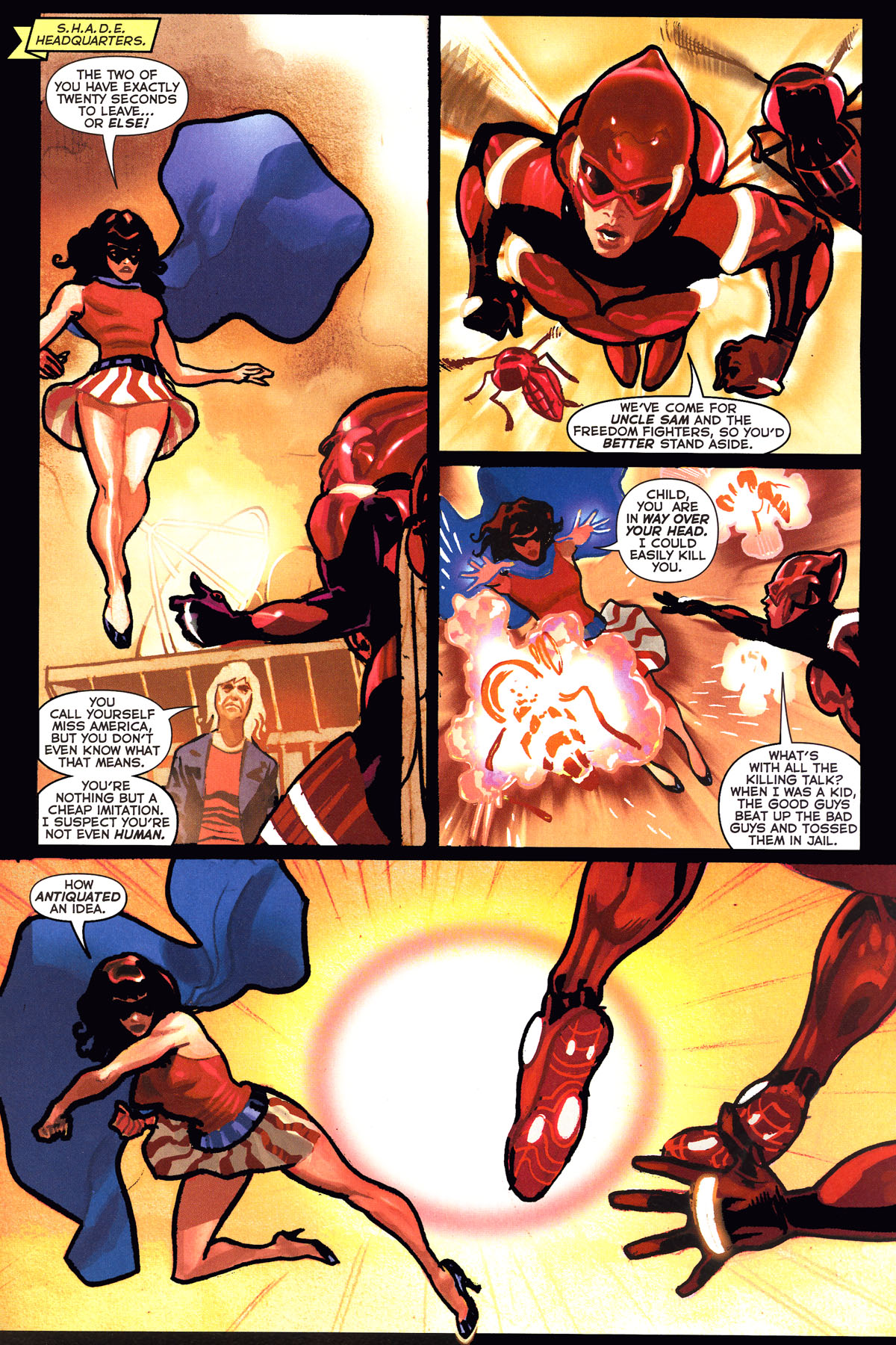 Read online Uncle Sam and the Freedom Fighters (2006) comic -  Issue #6 - 3