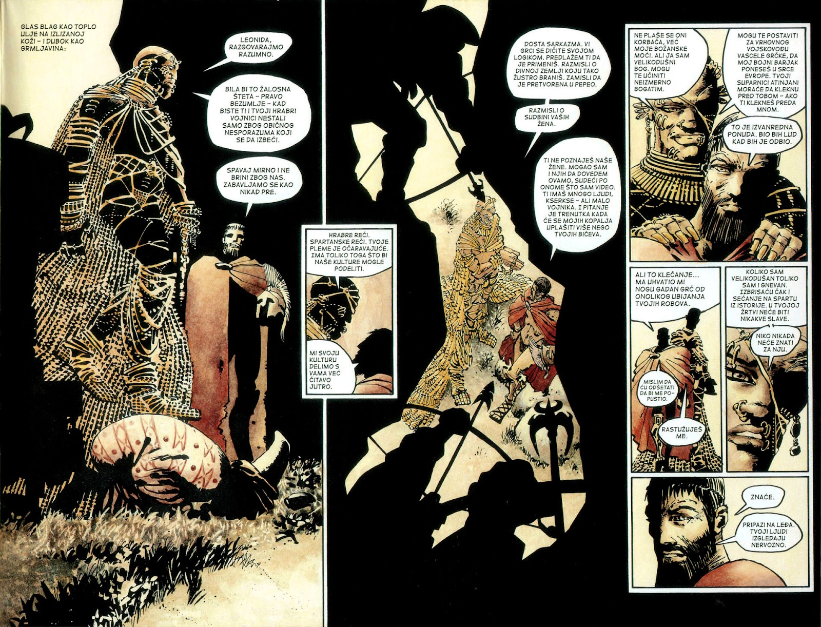 Read online 300 (2007) comic -  Issue # TPB - 56