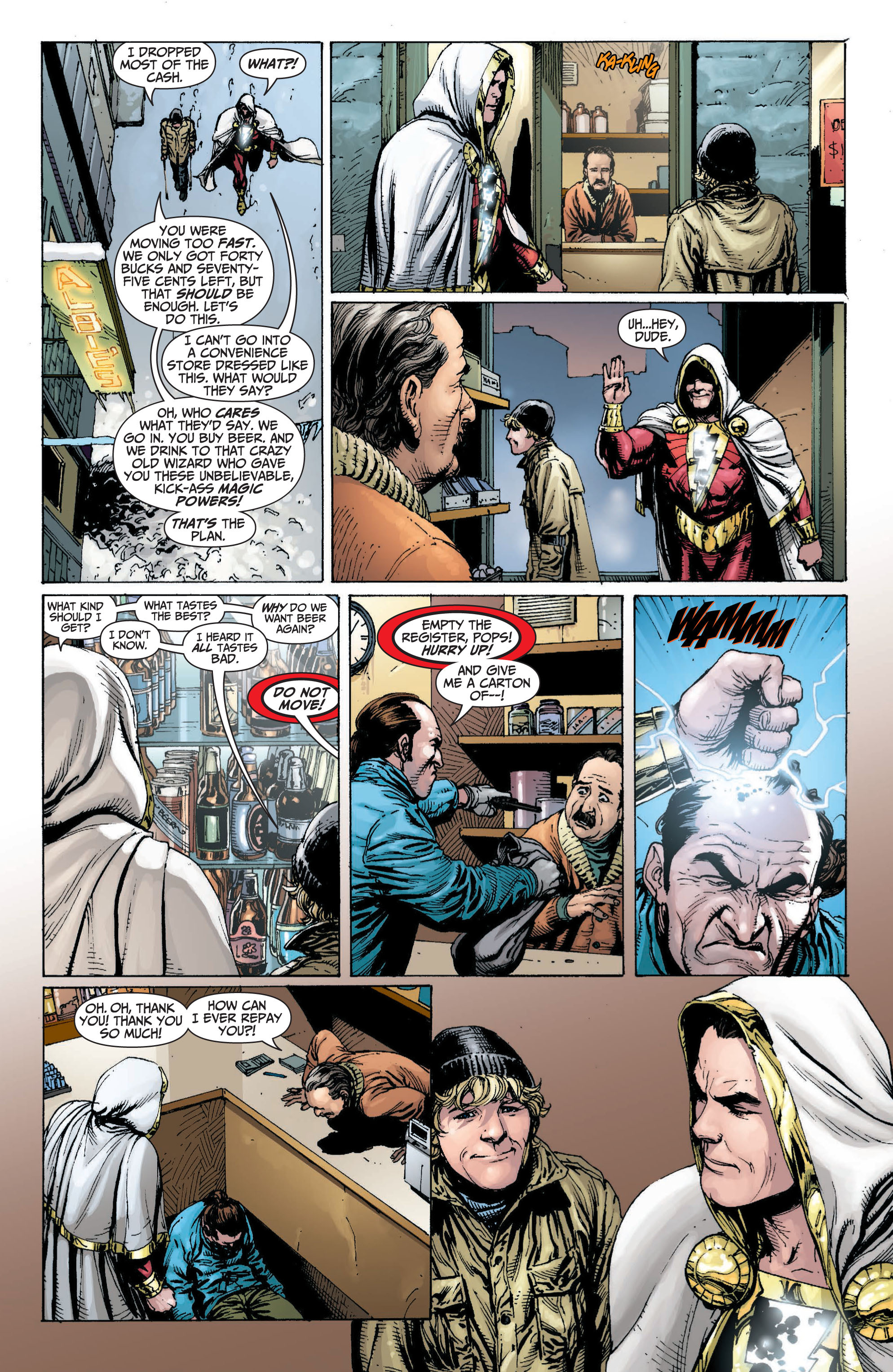 Read online Shazam! (2013) comic -  Issue #1 - 106