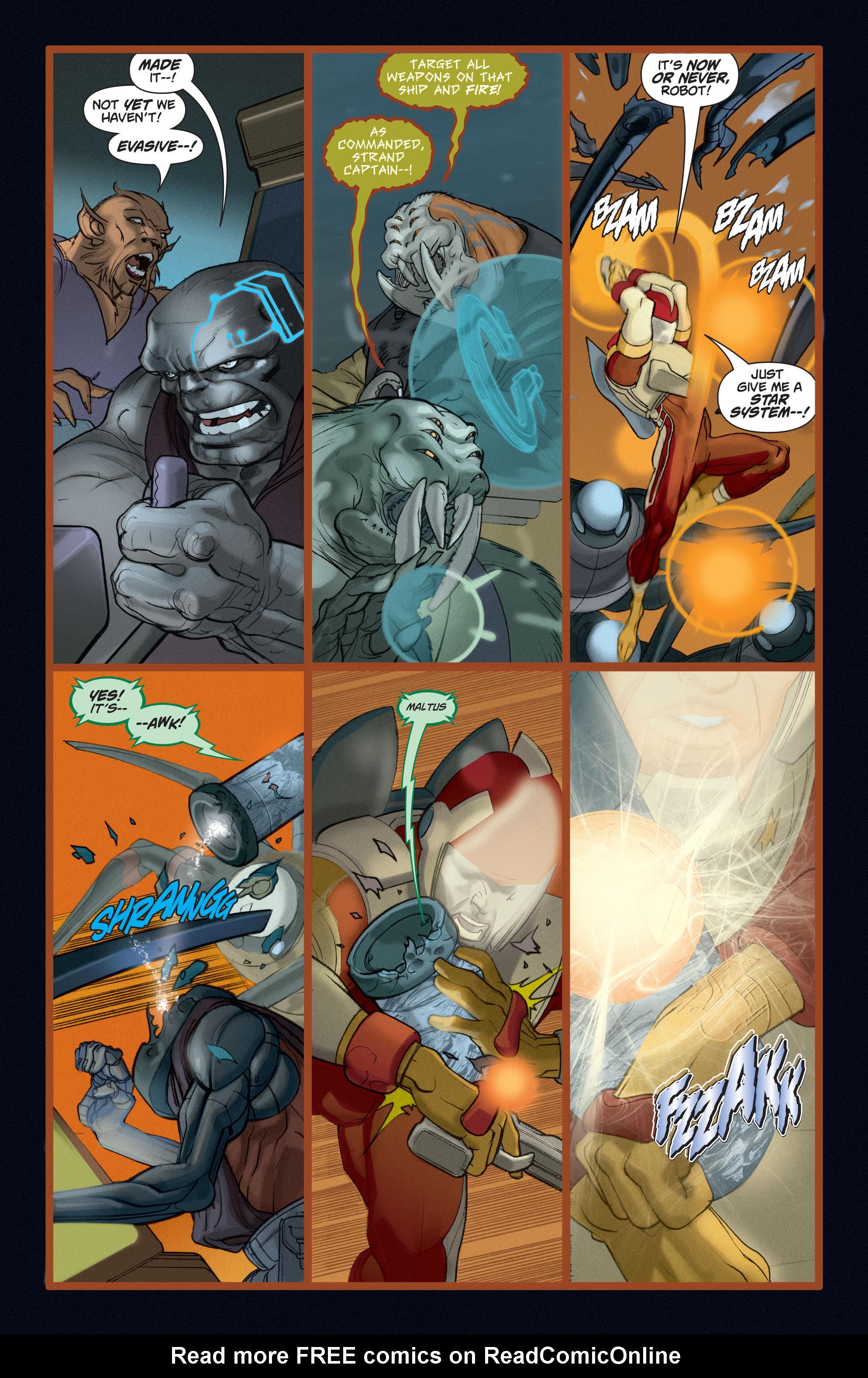 Read online Adam Strange (2004) comic -  Issue #5 - 14