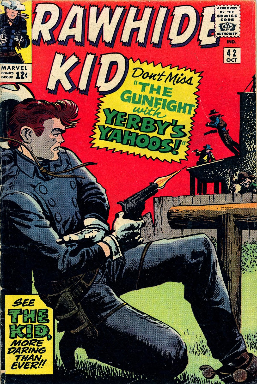 The Rawhide Kid (1955) issue 42 - Page 1
