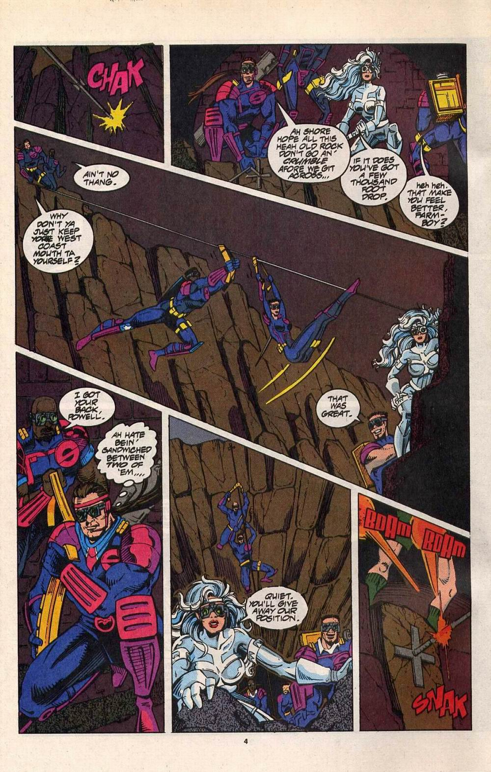 Read online Silver Sable and the Wild Pack comic -  Issue #29 - 5
