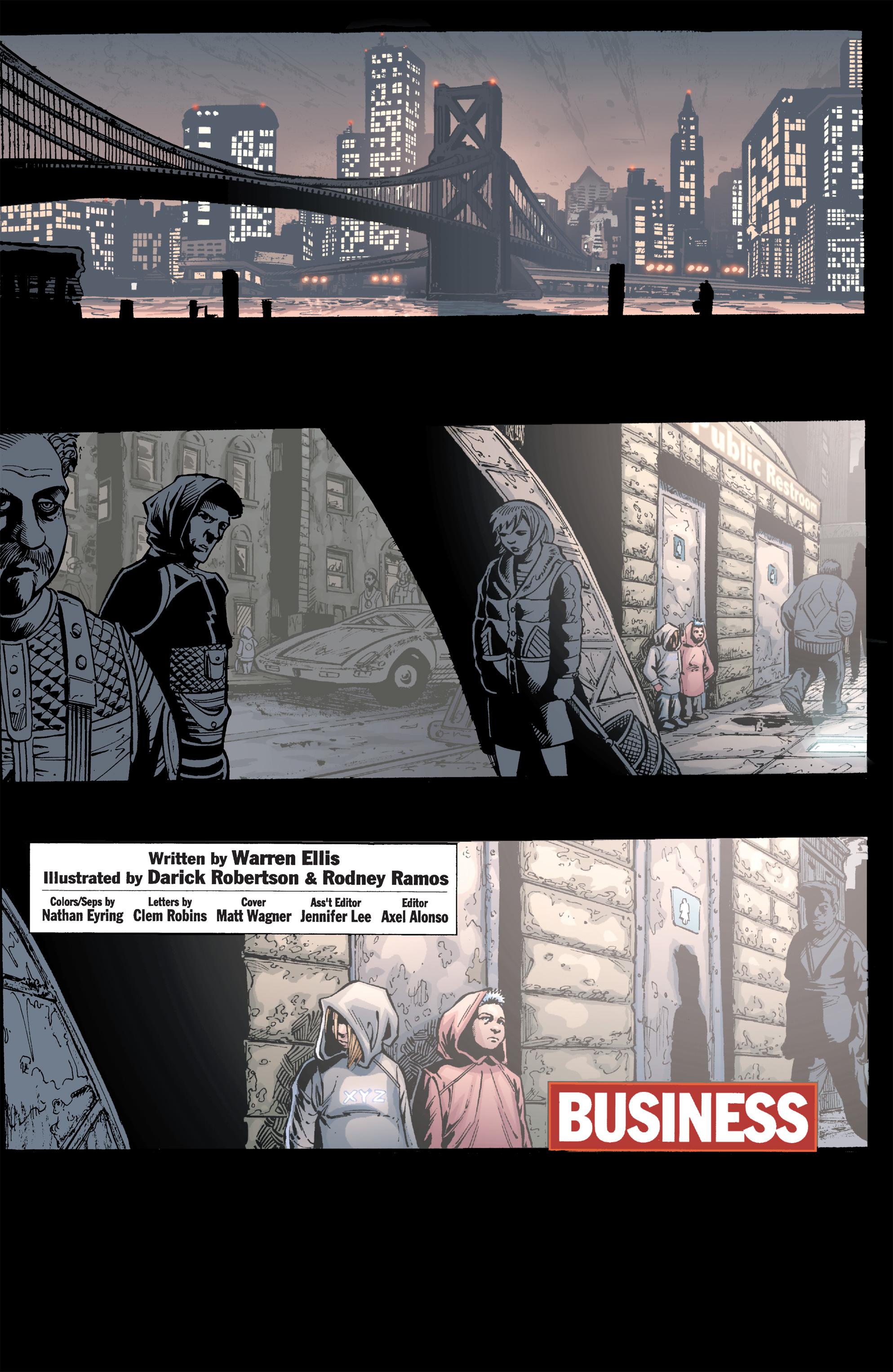 Read online Transmetropolitan comic -  Issue #40 - 2