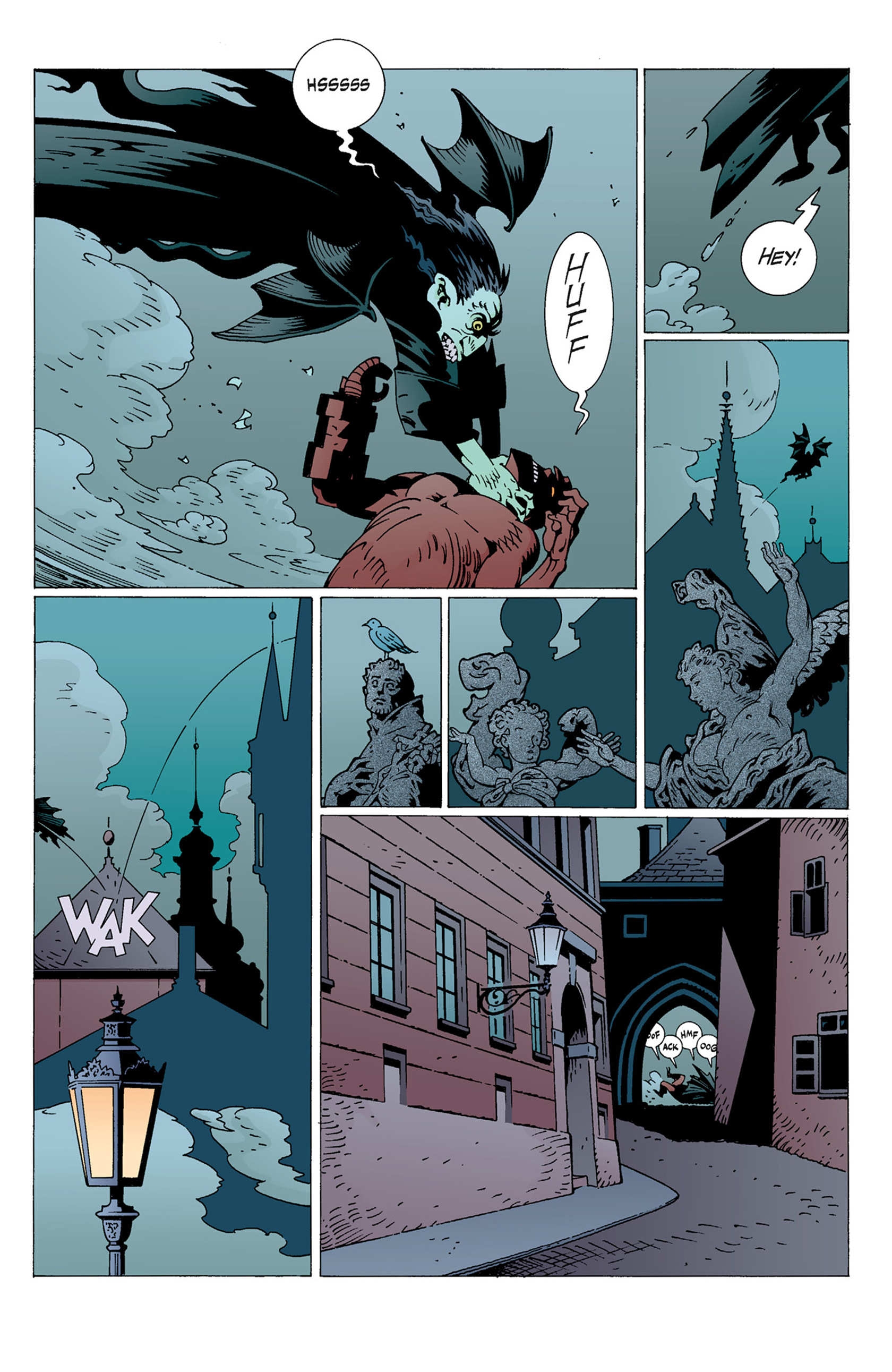 Read online Hellboy: The Troll Witch and Others comic -  Issue # TPB - 45