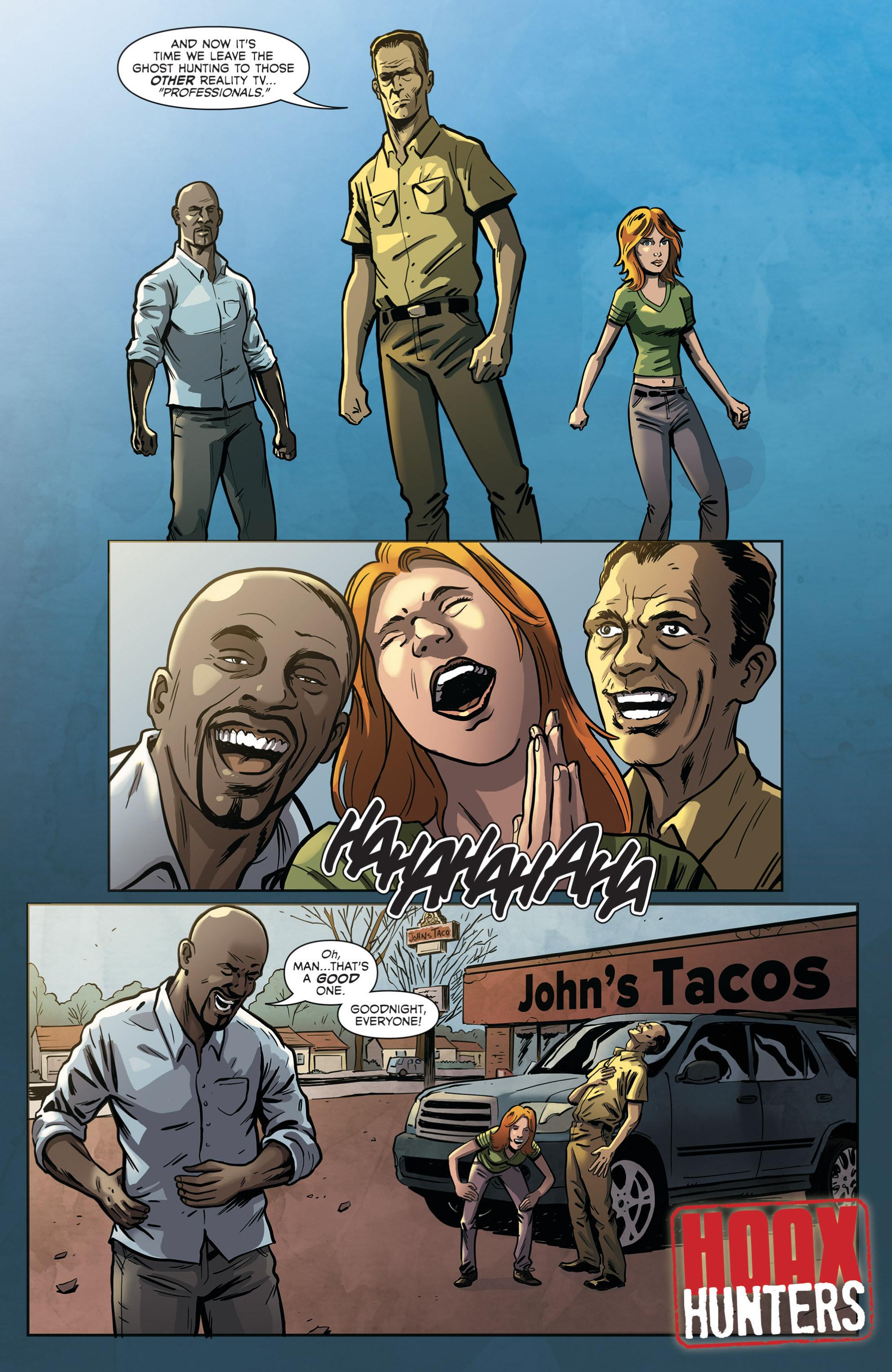 Read online Hoax Hunters (2012) comic -  Issue # TPB 2 - 84