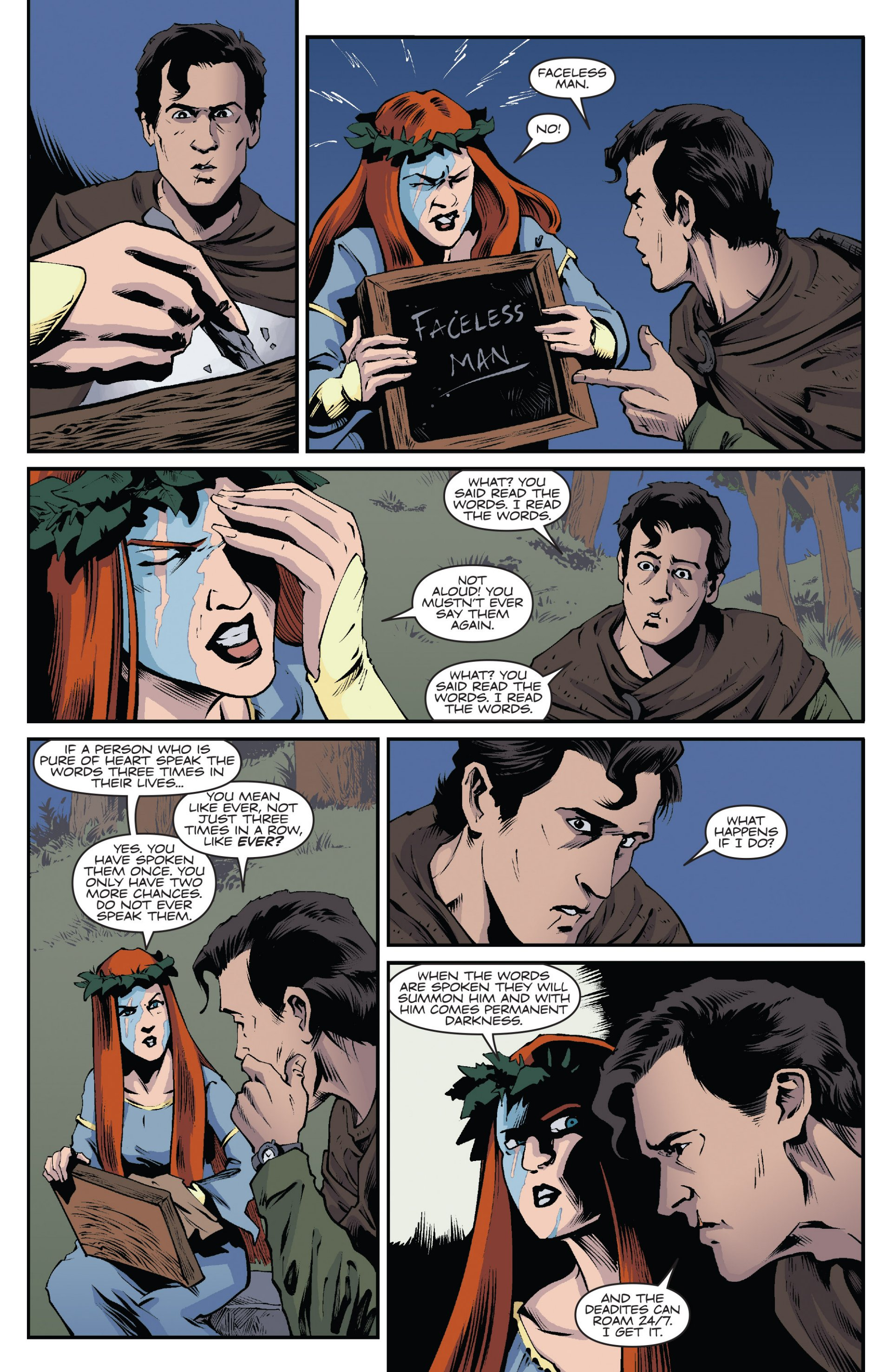 Read online Ash and the Army of Darkness comic -  Issue #7 - 12