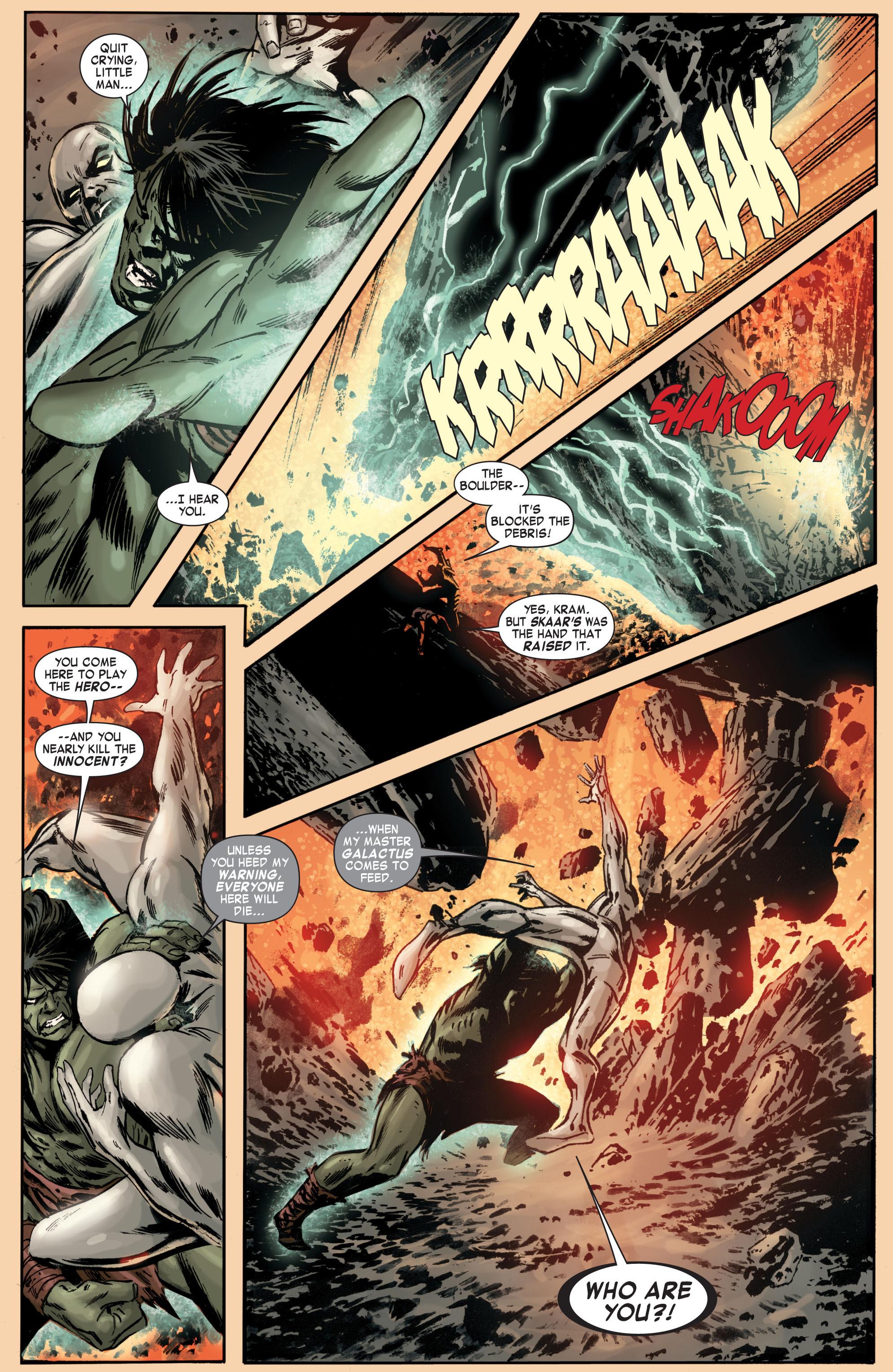 Read online Skaar: Son of Hulk comic -  Issue #7 - 16
