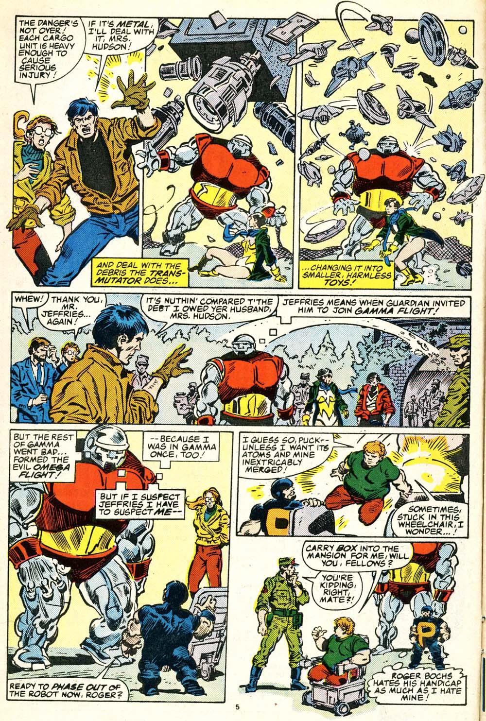 Read online Alpha Flight (1983) comic -  Issue #30 - 6