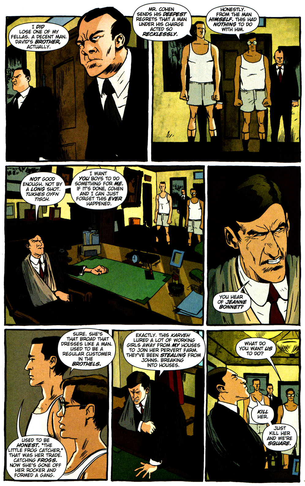 Read online Caper comic -  Issue #2 - 16