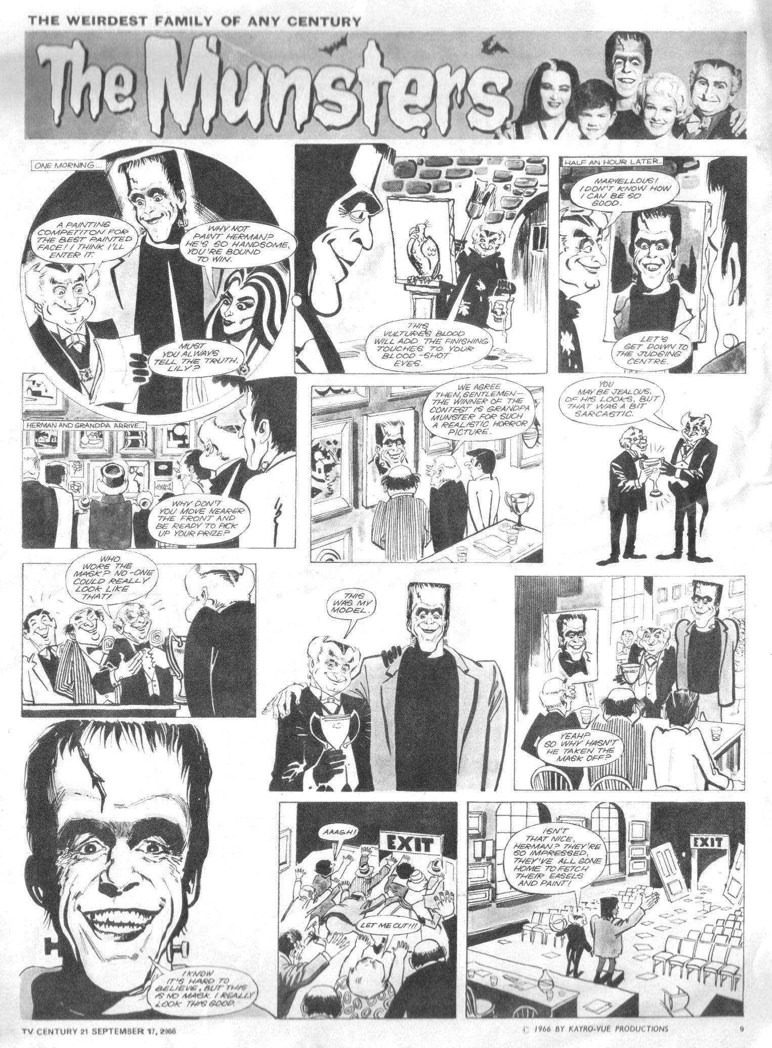 Read online TV Century 21 (TV 21) comic -  Issue #87 - 9