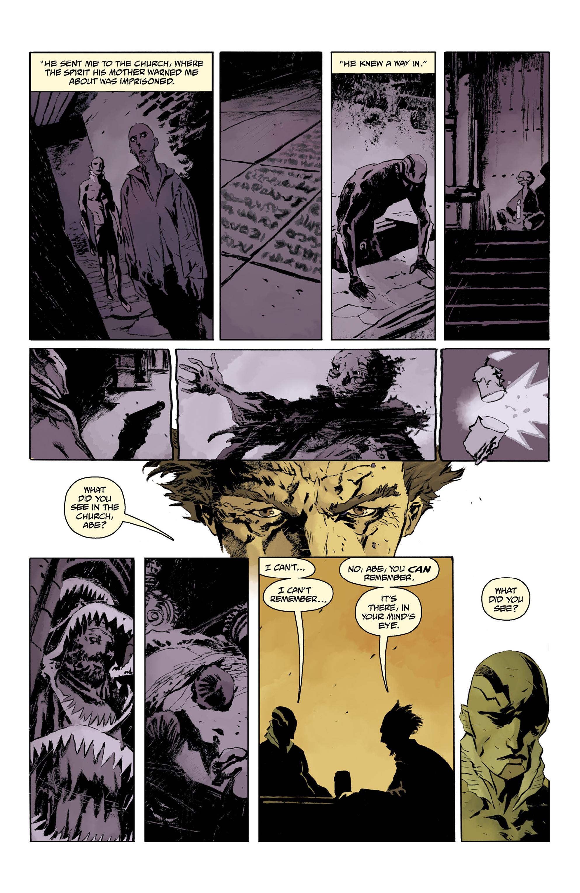 Read online Abe Sapien comic -  Issue #32 - 21