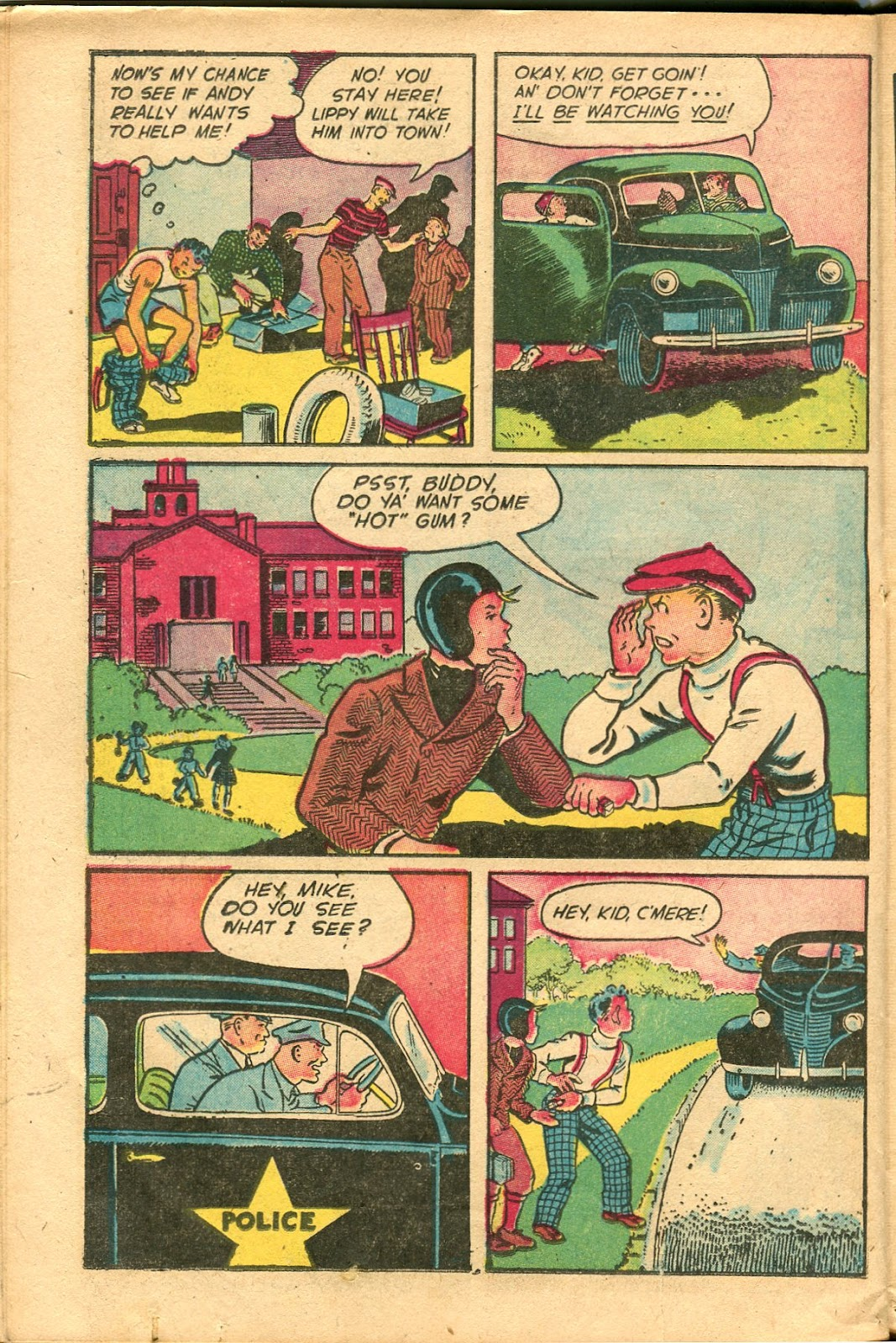 Read online Famous Funnies comic -  Issue #154 - 32
