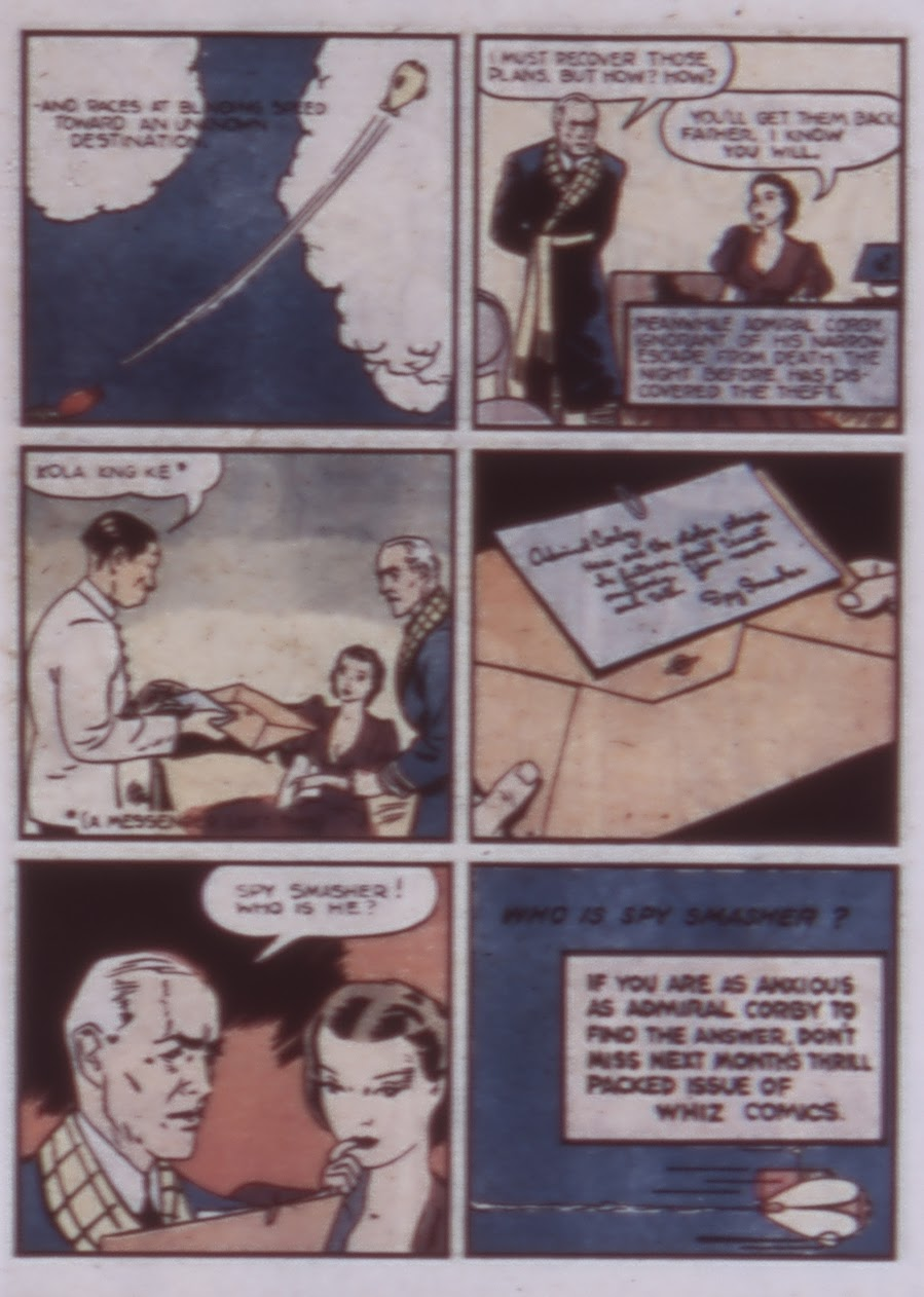 Read online WHIZ Comics comic -  Issue #1 - 41