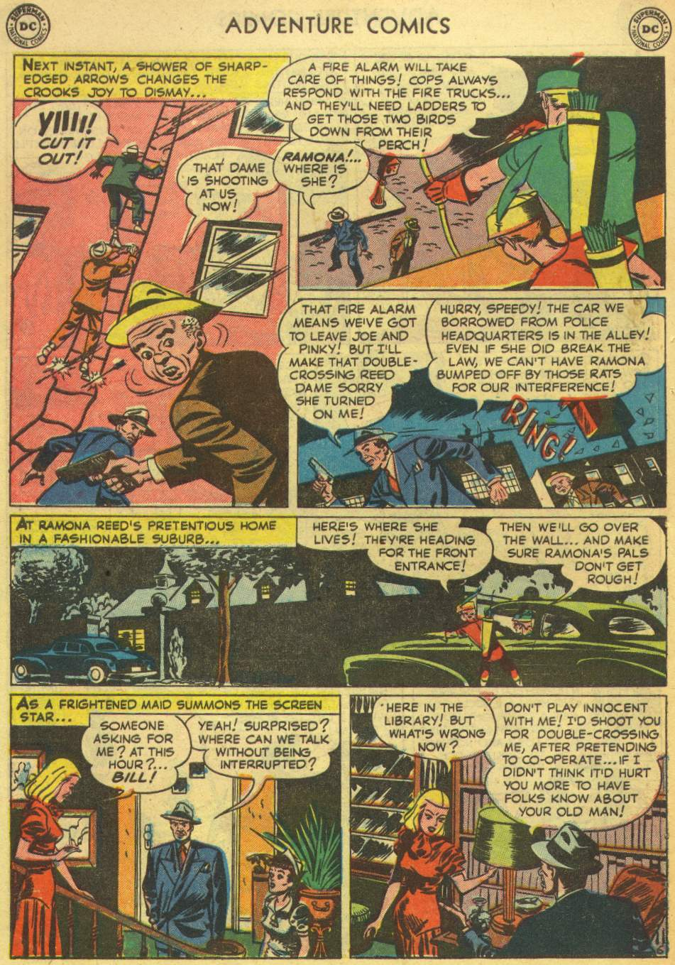 Read online Adventure Comics (1938) comic -  Issue #167 - 44
