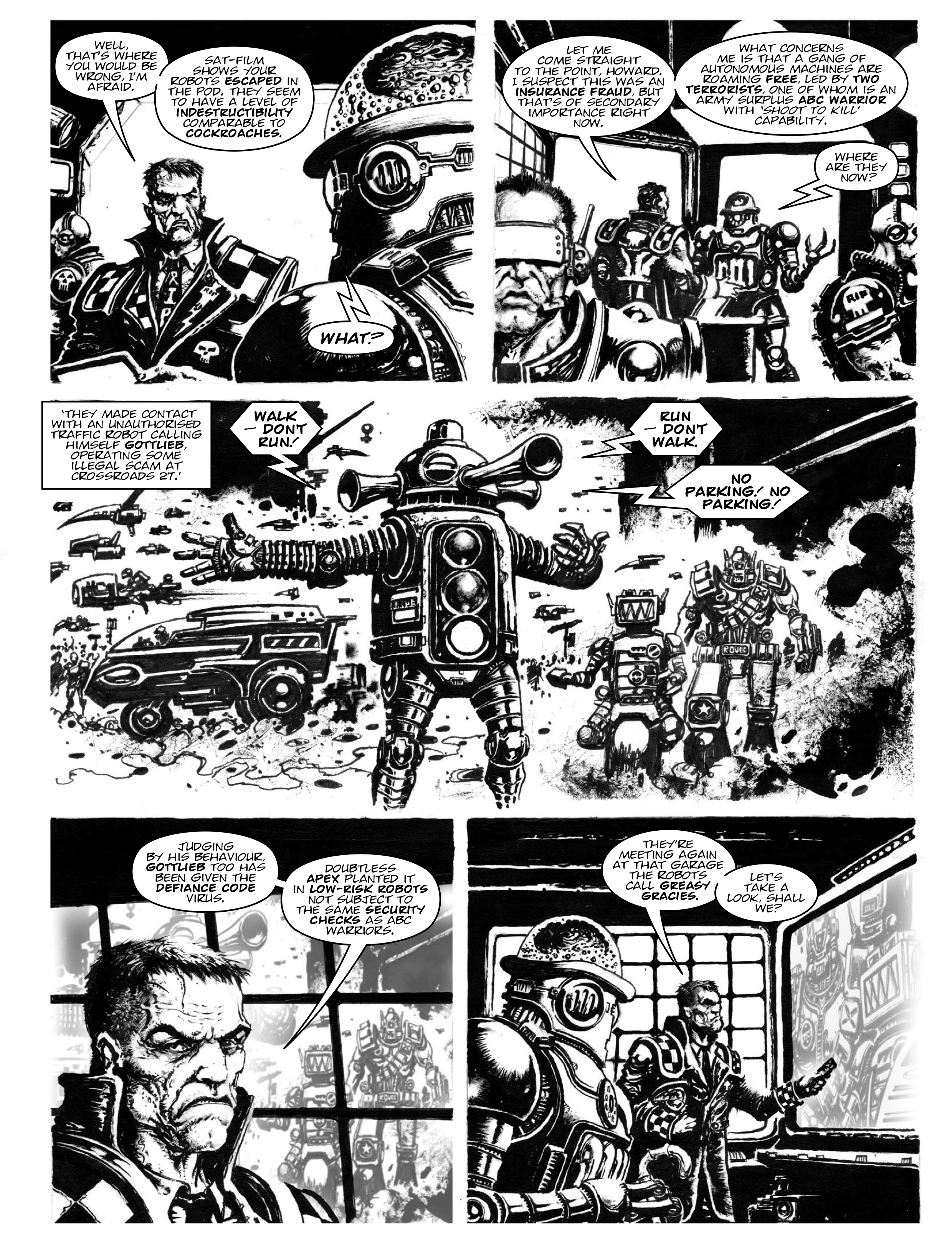 Read online 2000 AD comic -  Issue #1967 - 17