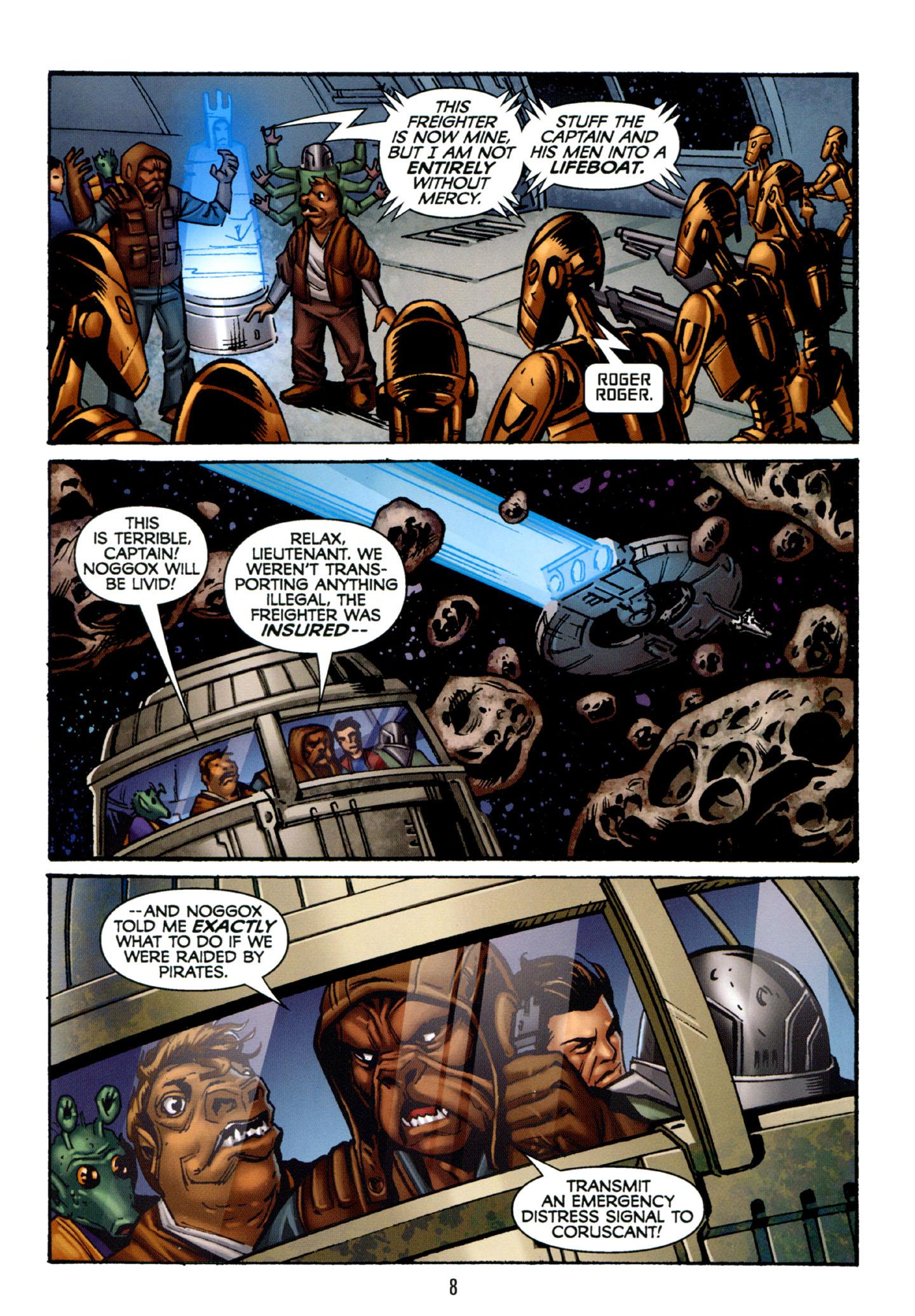 Read online Star Wars: The Clone Wars - Strange Allies comic -  Issue # Full - 9