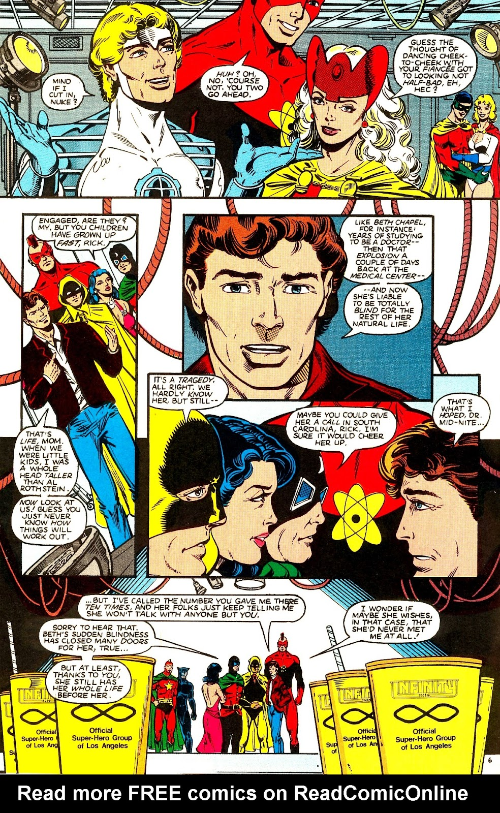 Infinity Inc. (1984) issue 21 - Page 8