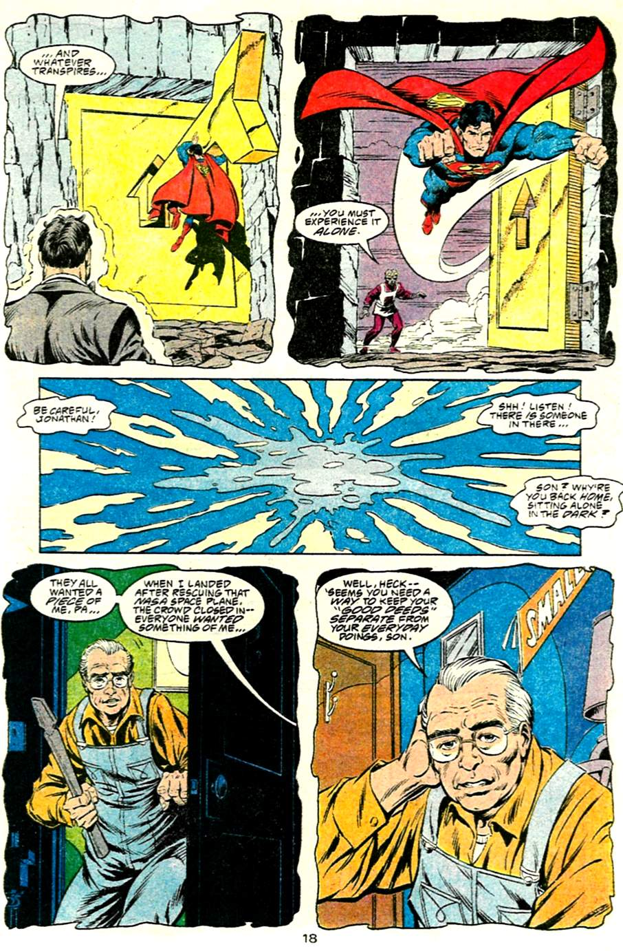 Read online Adventures of Superman (1987) comic -  Issue #485 - 19