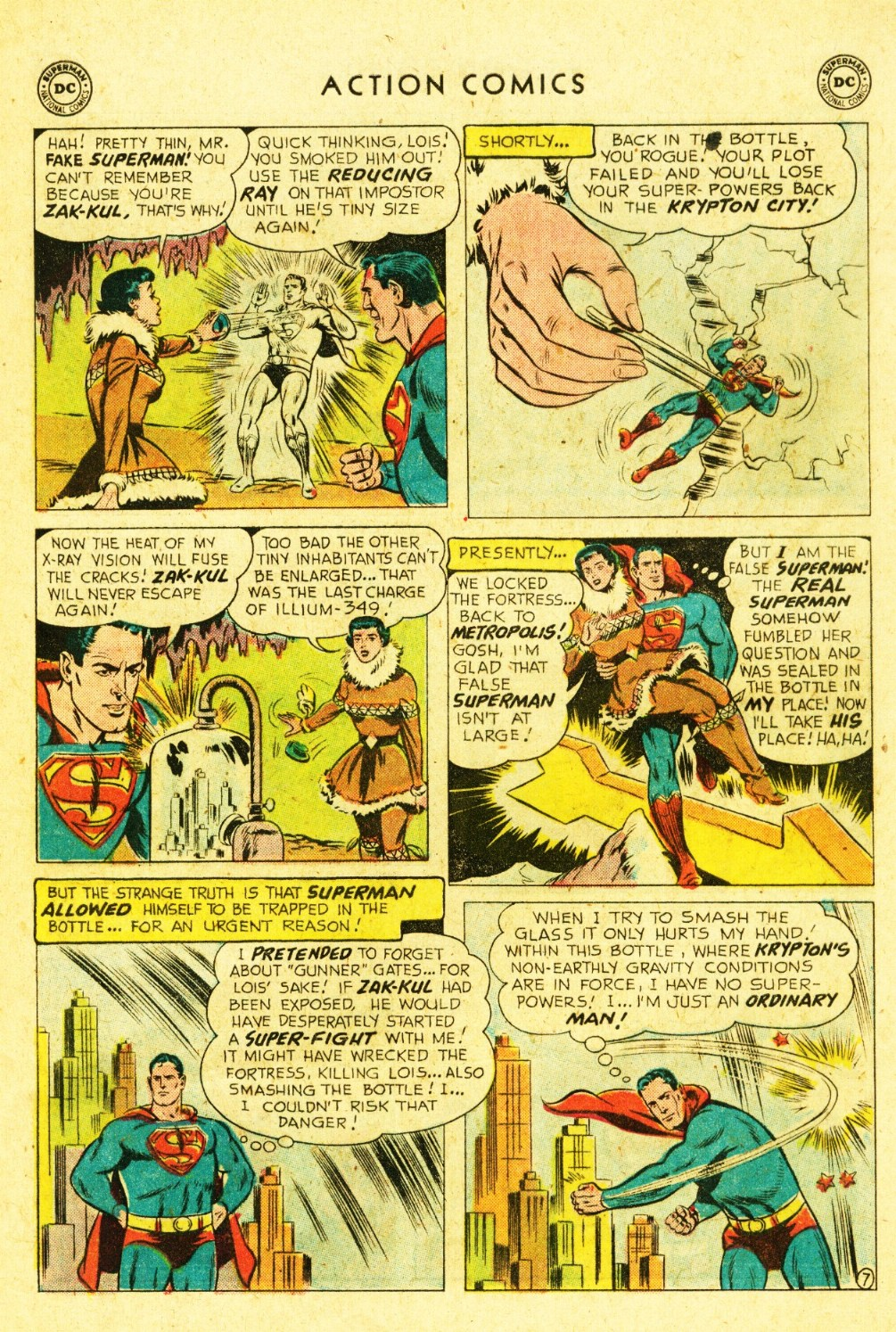 Read online Action Comics (1938) comic -  Issue #245 - 9
