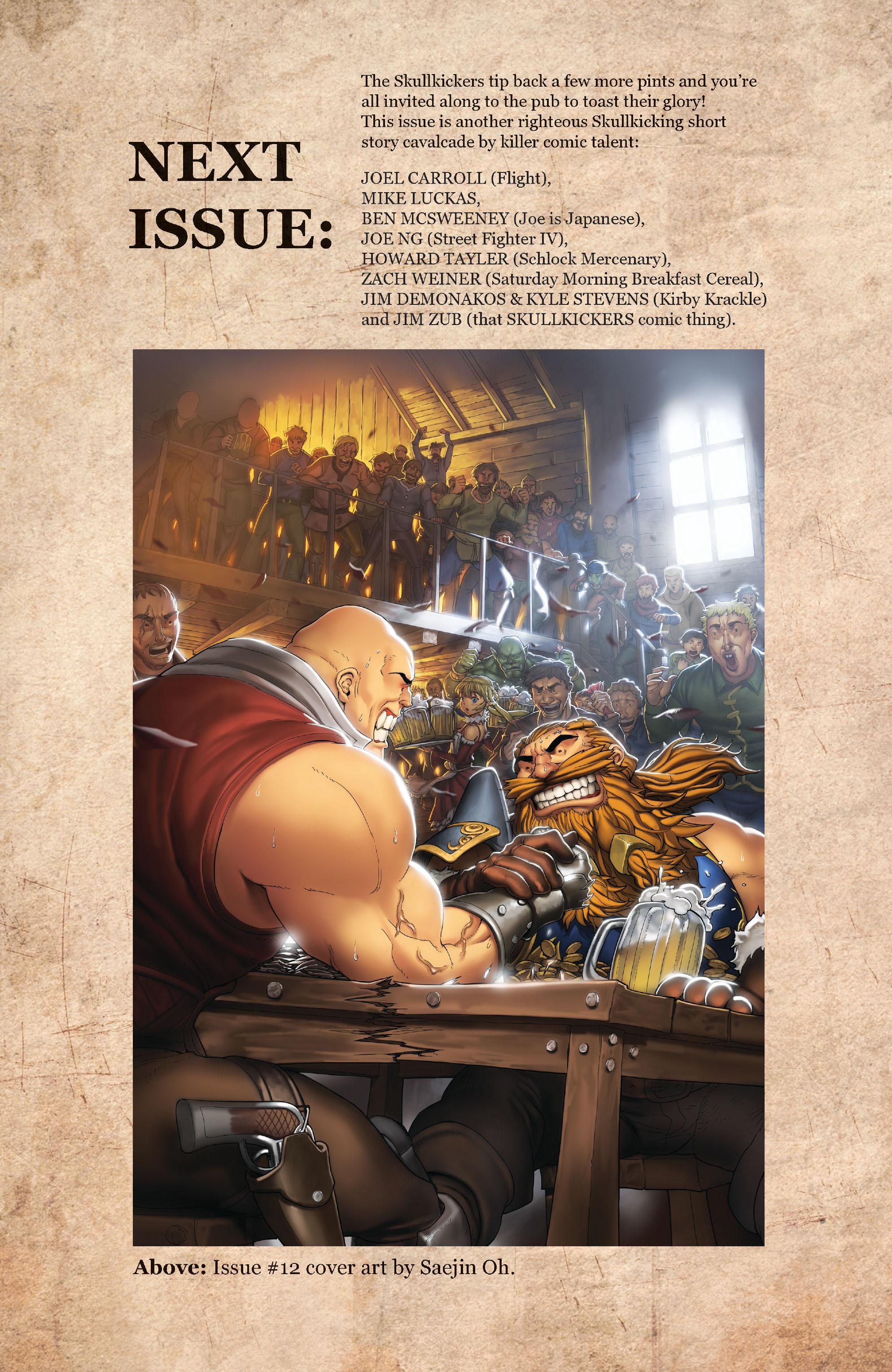 Read online Skullkickers comic -  Issue #11 - 23