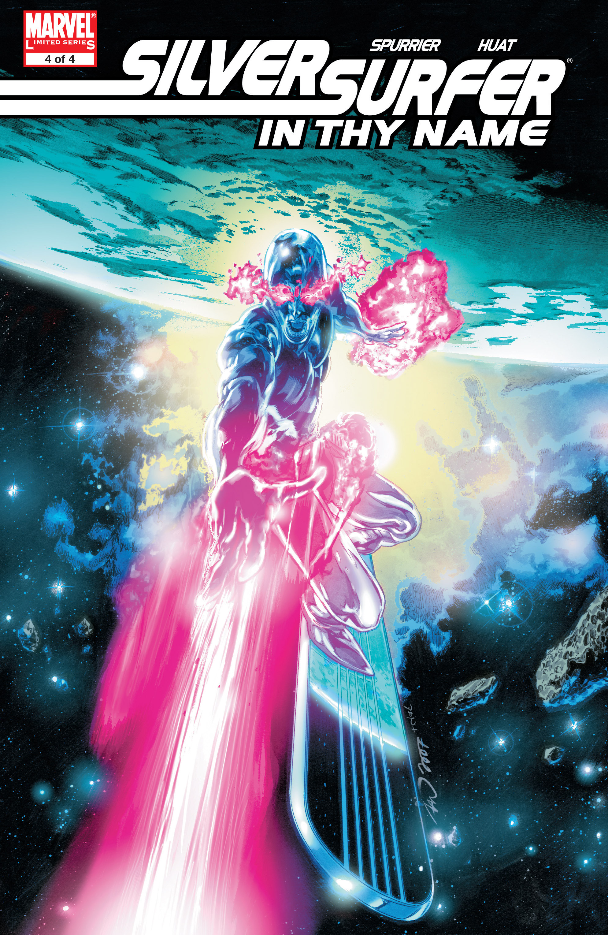 Read online Silver Surfer: In Thy Name comic -  Issue #4 - 1