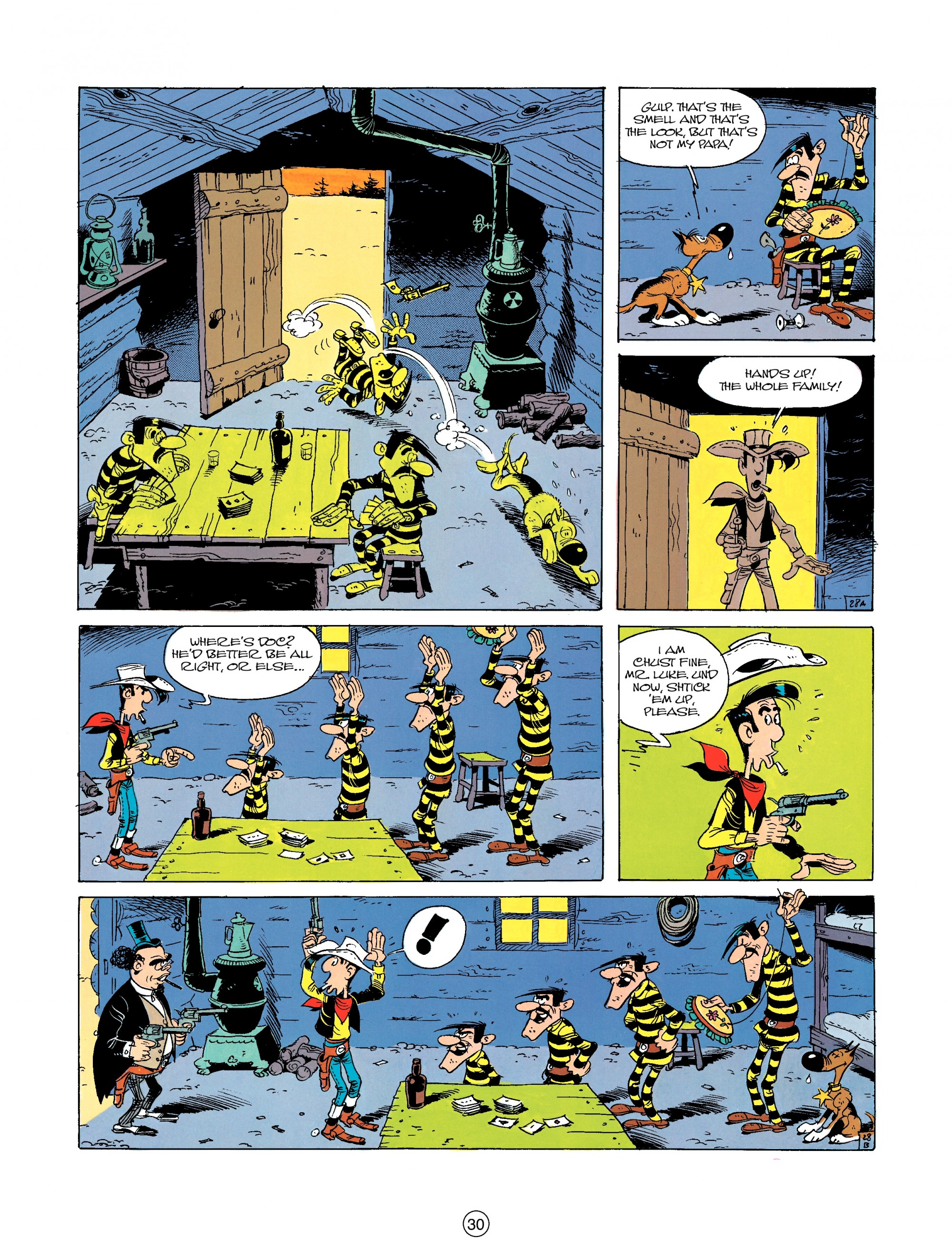 Read online A Lucky Luke Adventure comic -  Issue #23 - 30