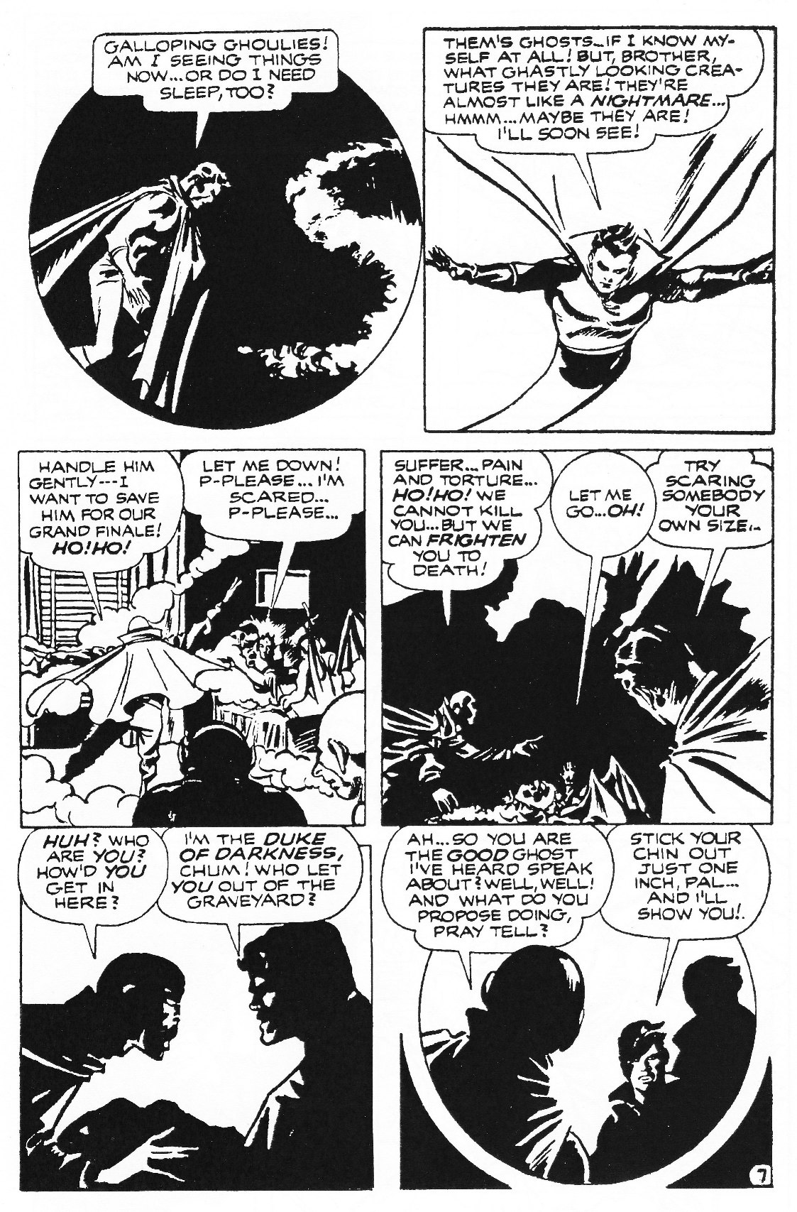 Read online Men of Mystery Comics comic -  Issue #72 - 9