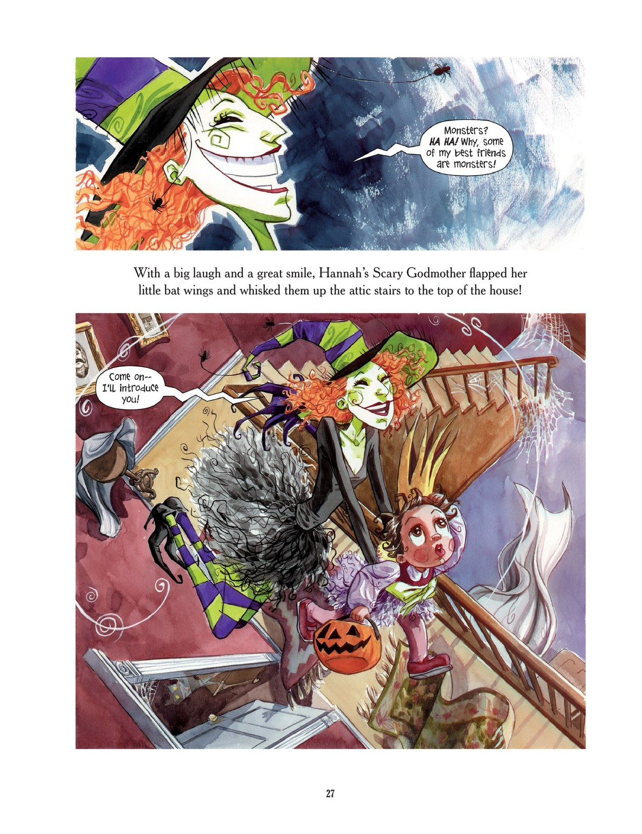 Read online Scary Godmother comic -  Issue # TPB - 27