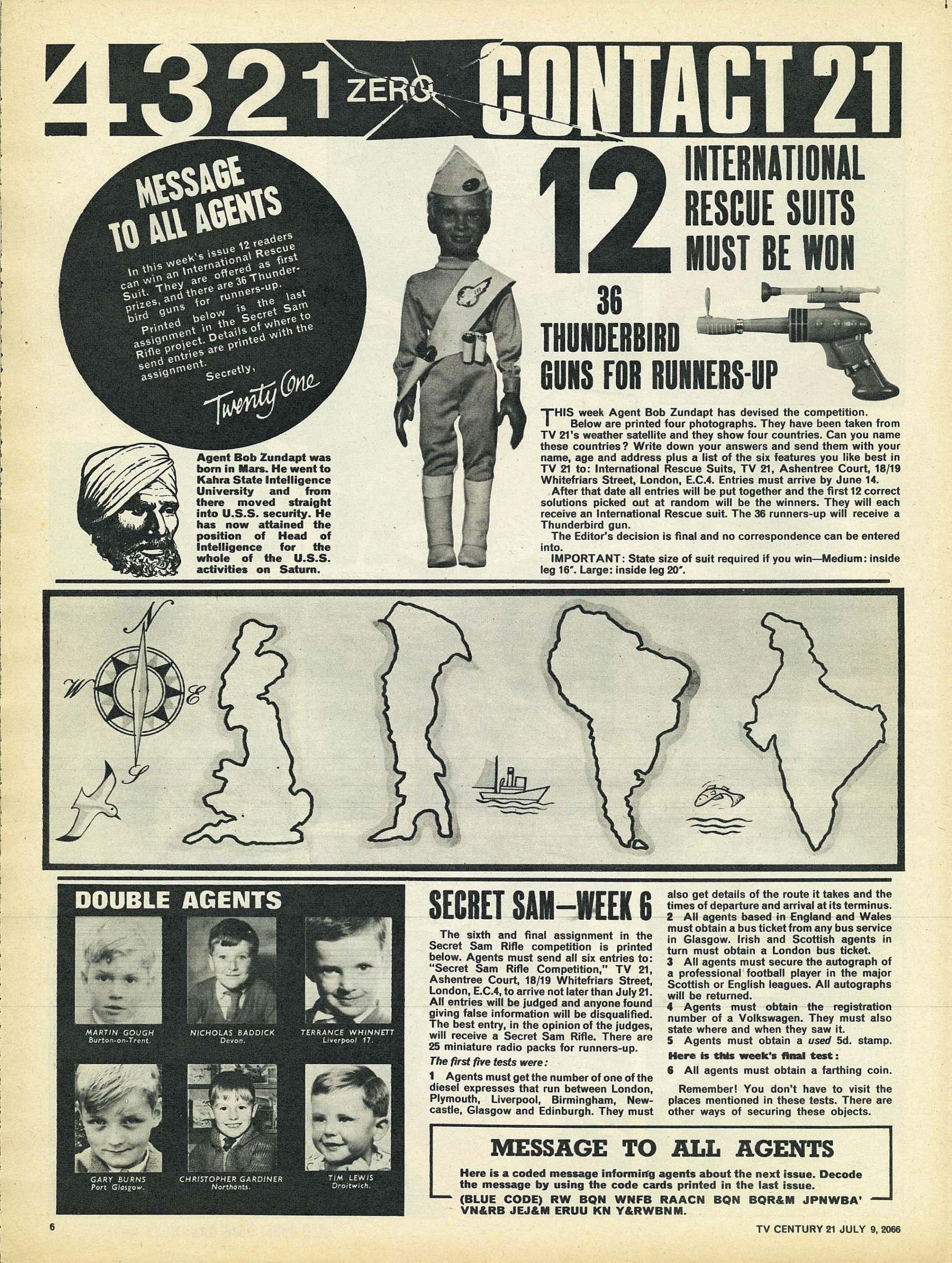Read online TV Century 21 (TV 21) comic -  Issue #77 - 6