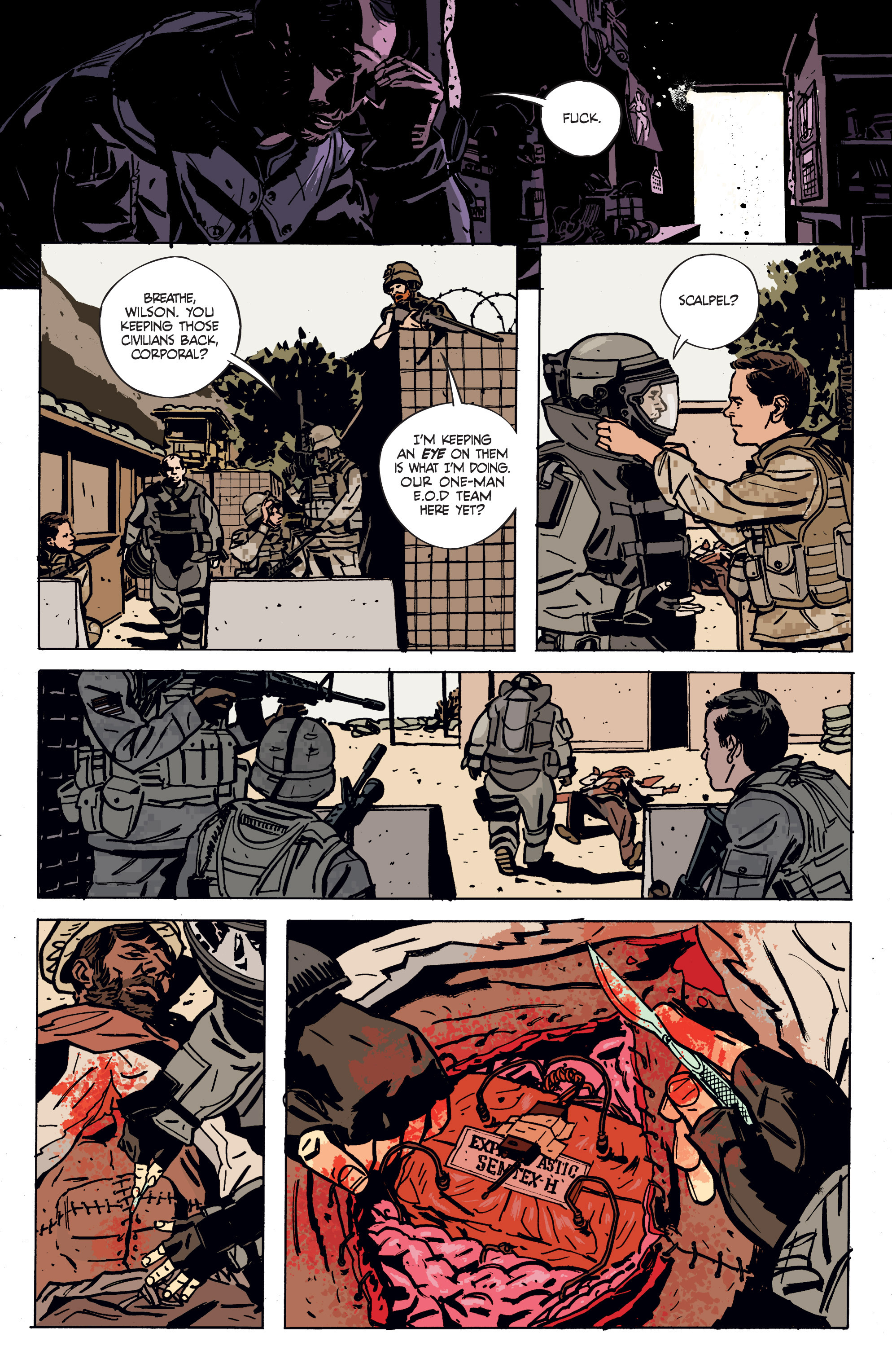 Read online Graveyard of Empires comic -  Issue # TPB - 14