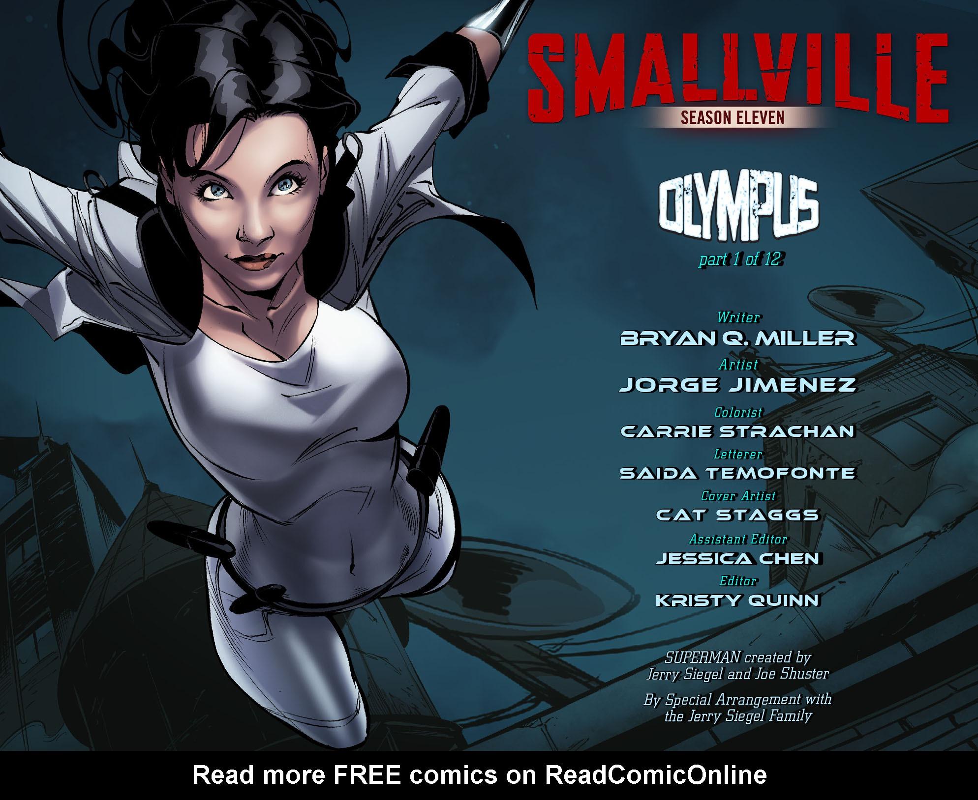 Read online Smallville: Season 11 comic -  Issue #56 - 2