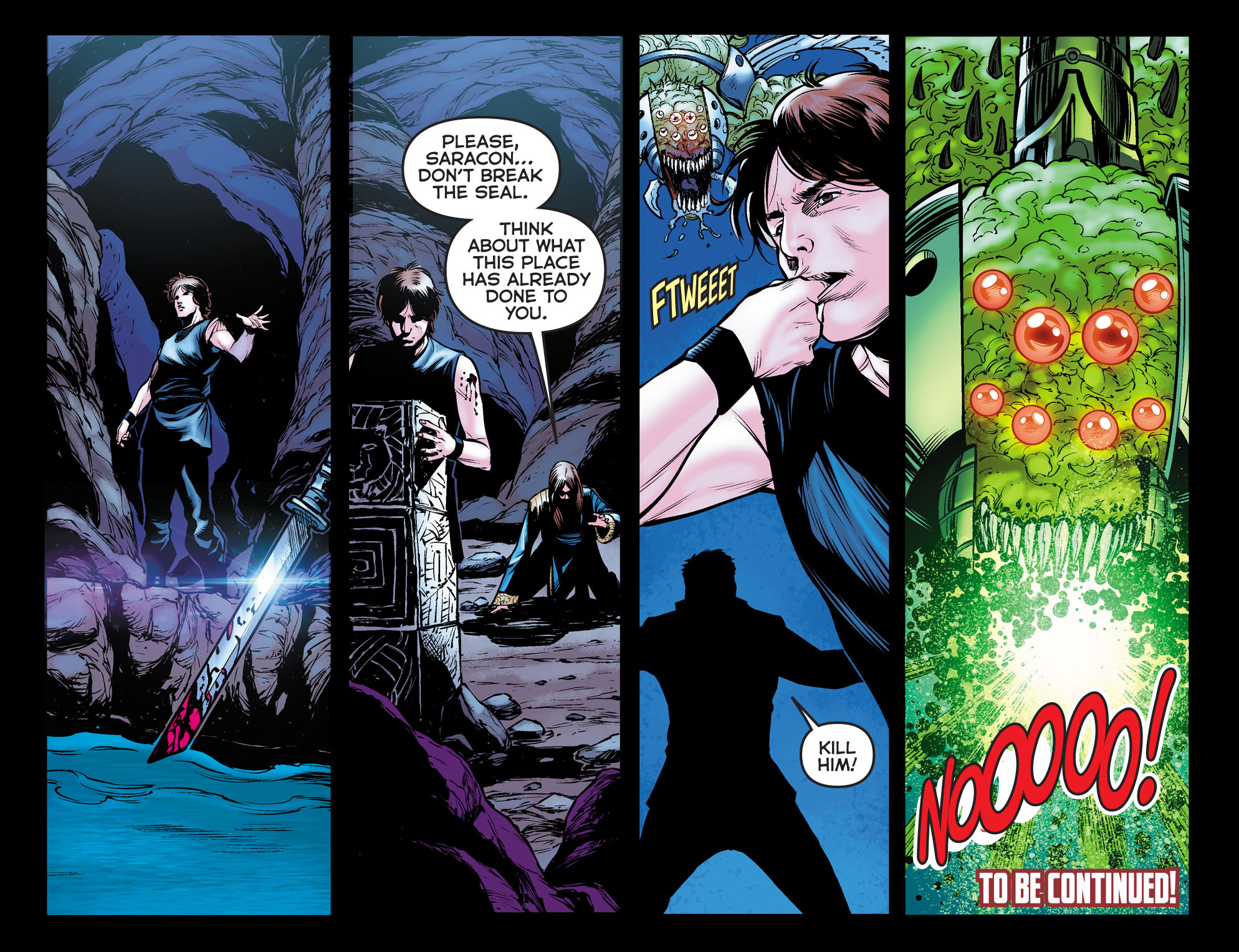 Read online Arrow: The Dark Archer comic -  Issue #11 - 22
