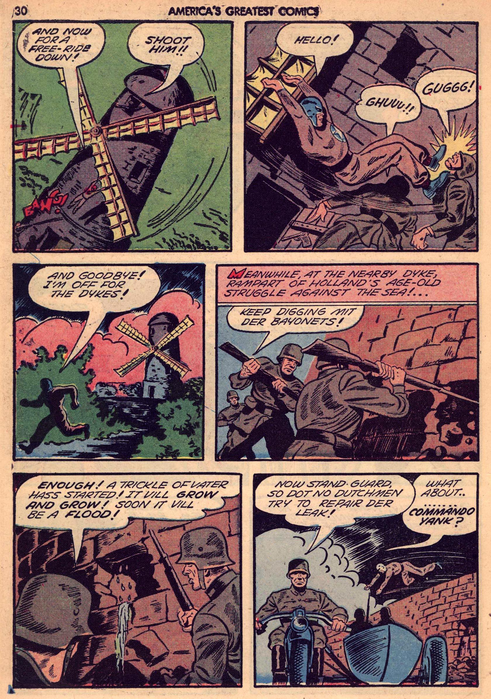 Read online America's Greatest Comics comic -  Issue #7 - 29