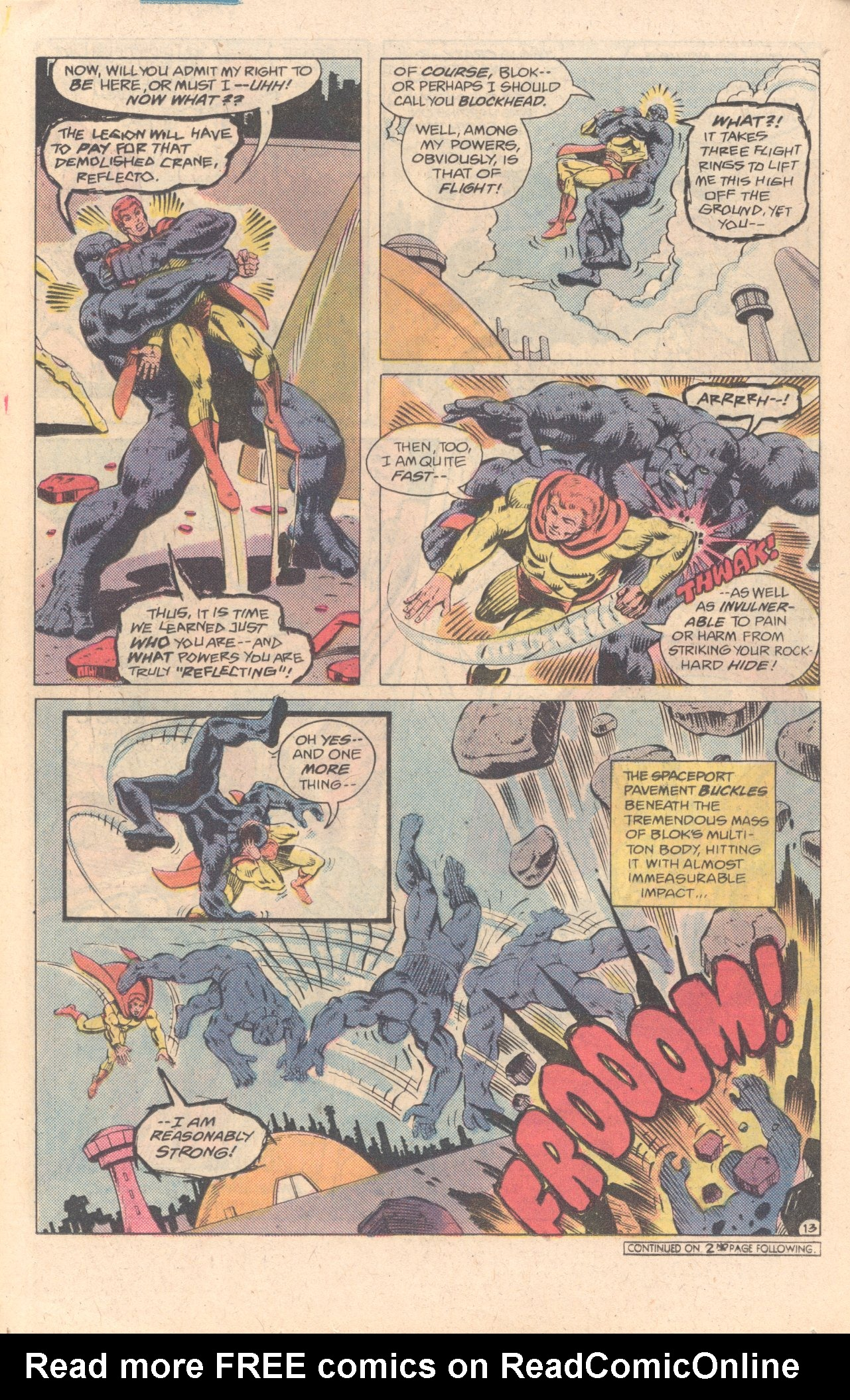 Legion of Super-Heroes (1980) 278 Page 13